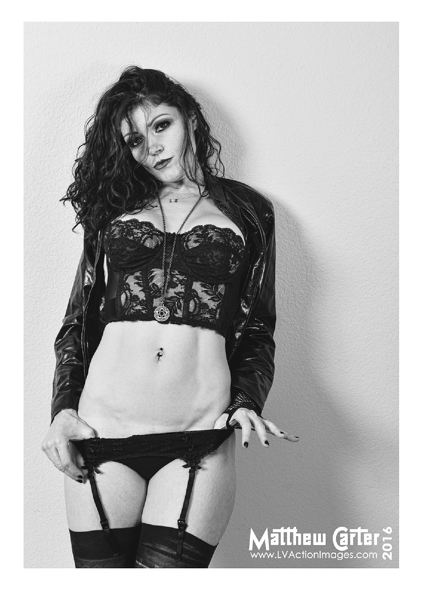 Amy in Lingerie by LV Photo Art