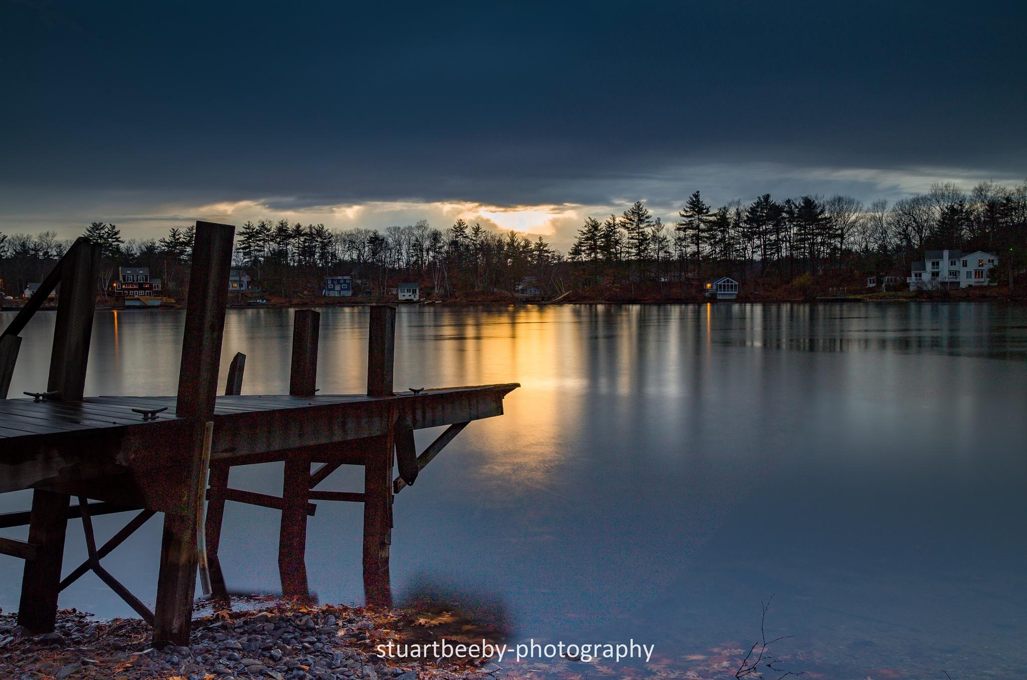 Knops Pond by Stuart Beeby