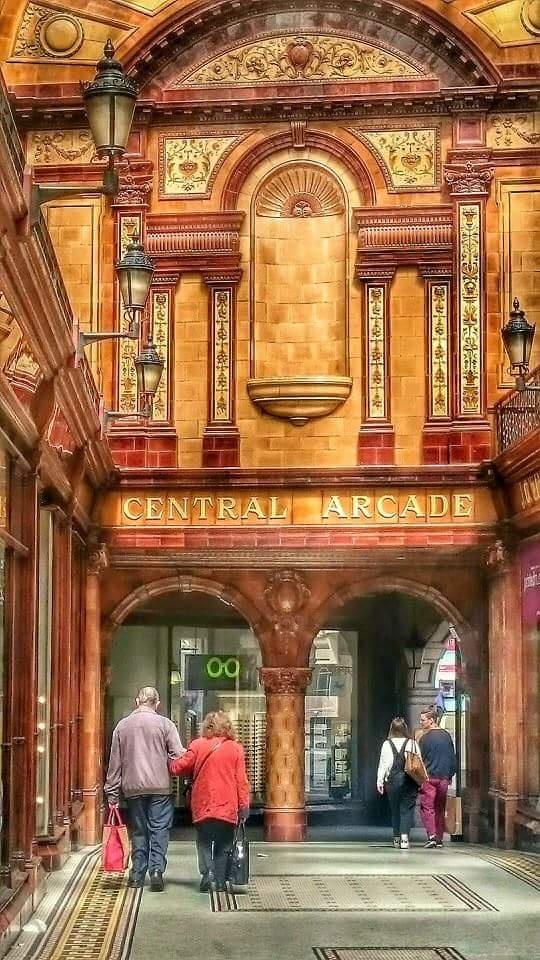Central Arcade  by Darren Turner