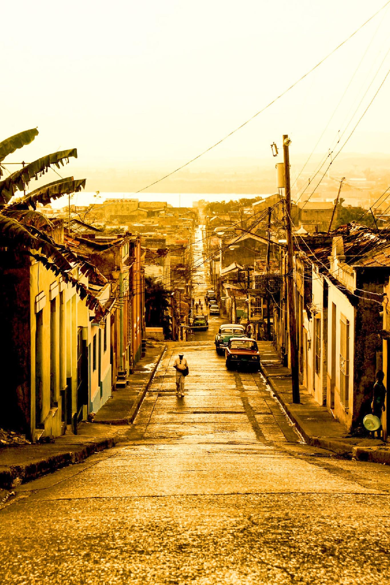 Streets of Santiago by Jo Zeitler