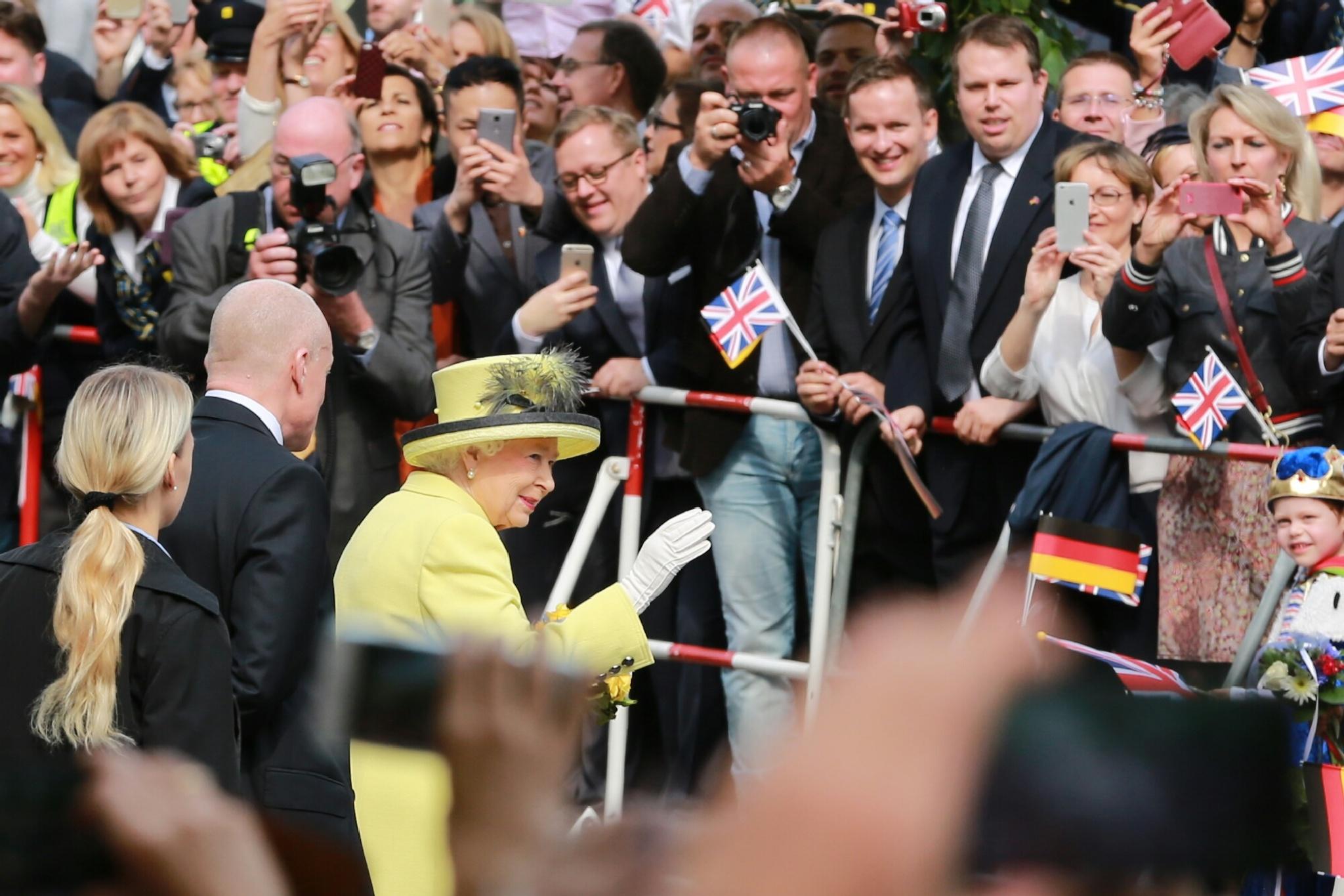 Her Majesty Queen Elizabeth II by Jo Zeitler