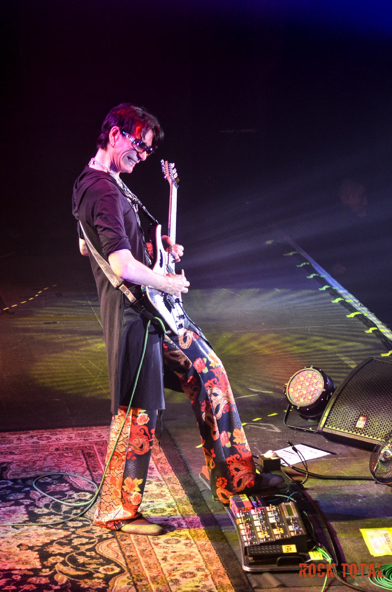 Steve Vai in concert by Rock Total