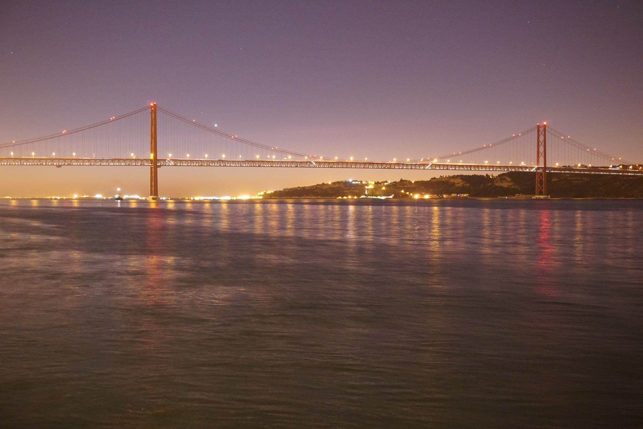 Bridge before the sun wakes up by Carlos Rosa Ferreira