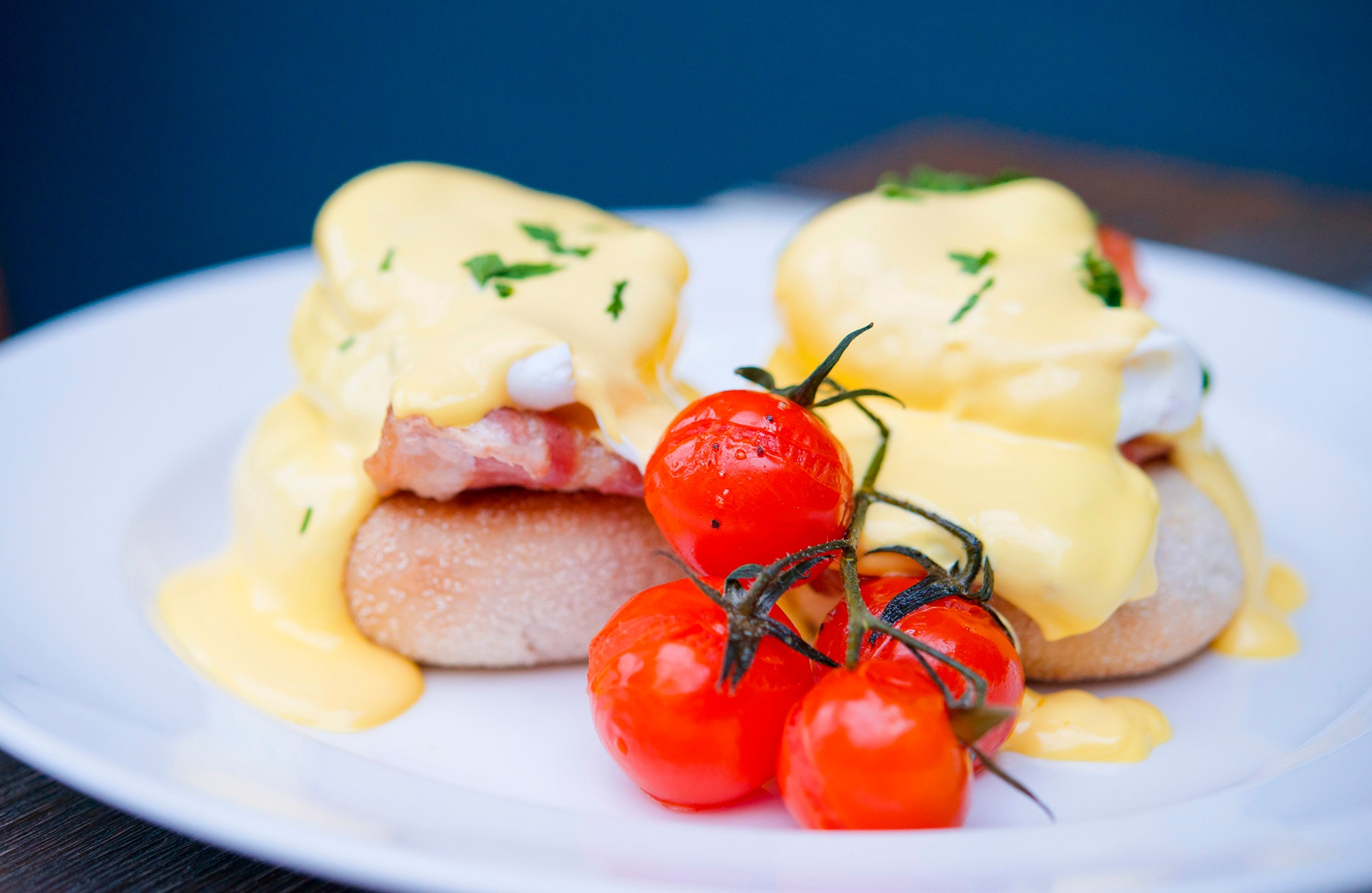 Eggs Benedict Bacon Muffin by Jamie McFadyen