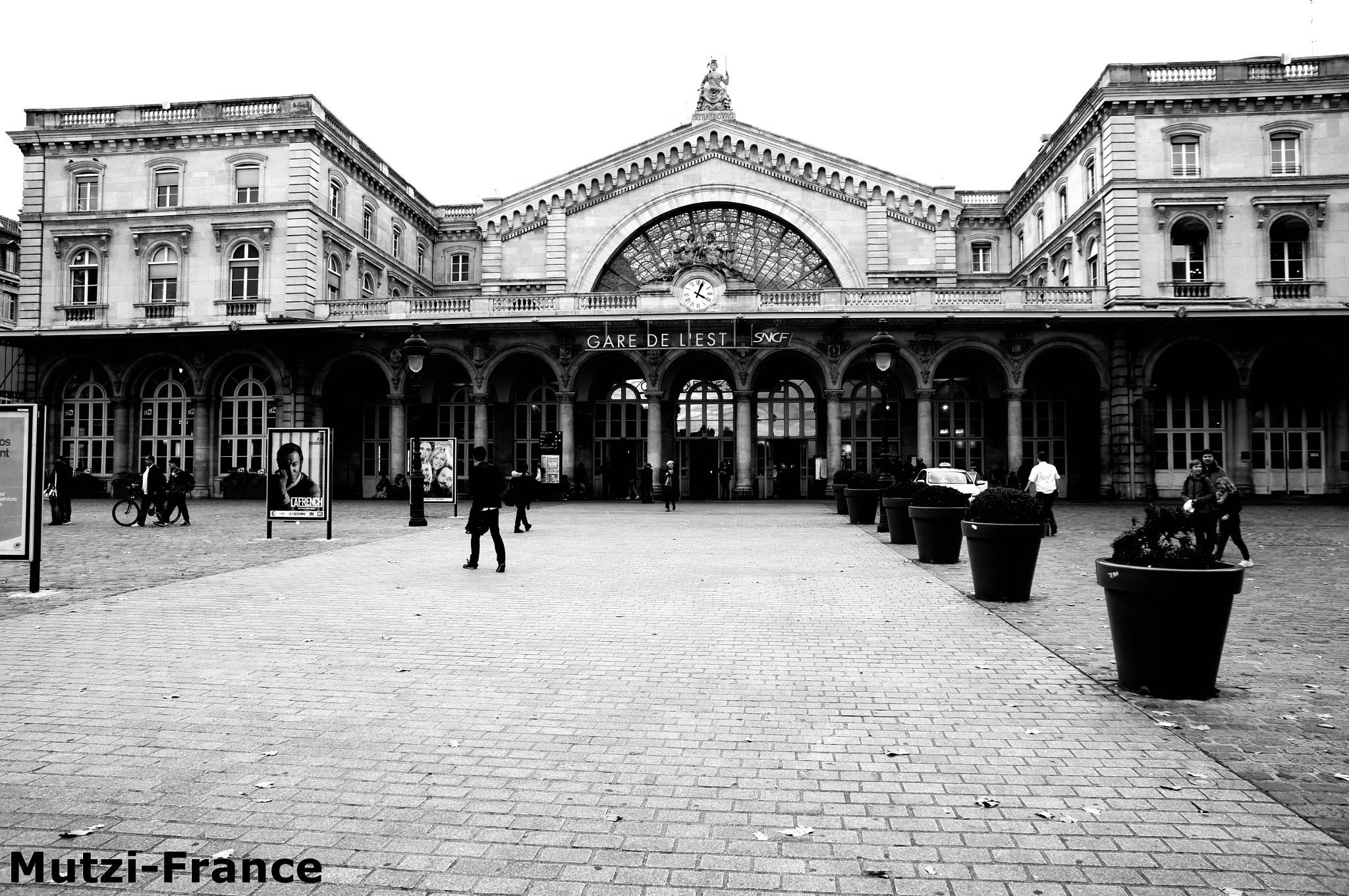 Gare del Est Paris ! by hanspeterfassmann