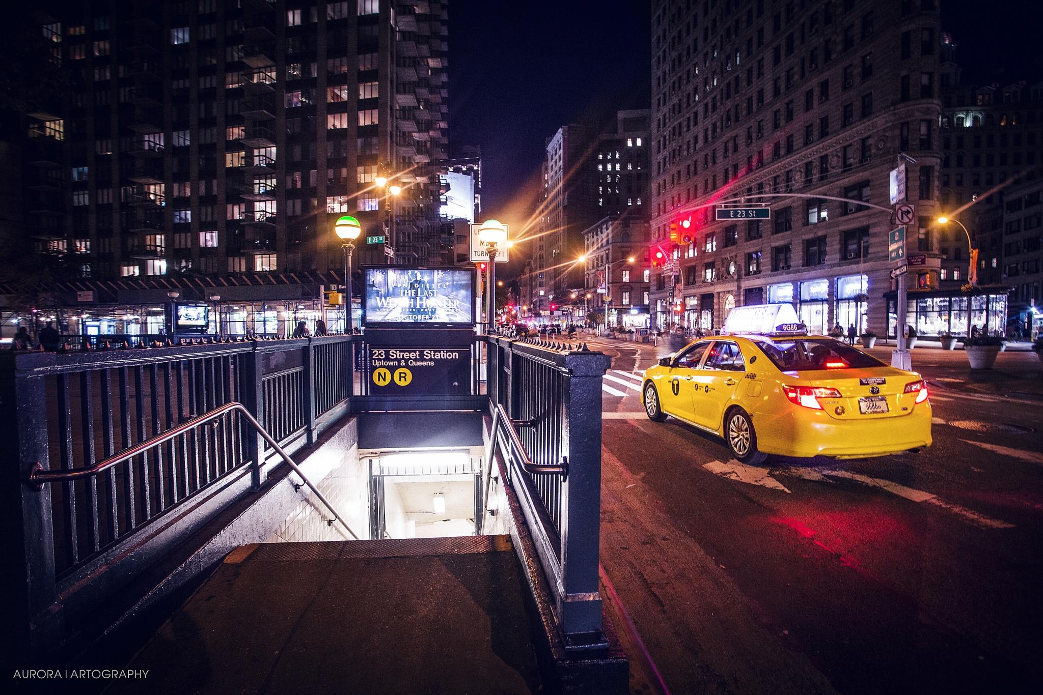 New York by night. by deineLieblingsfotografin