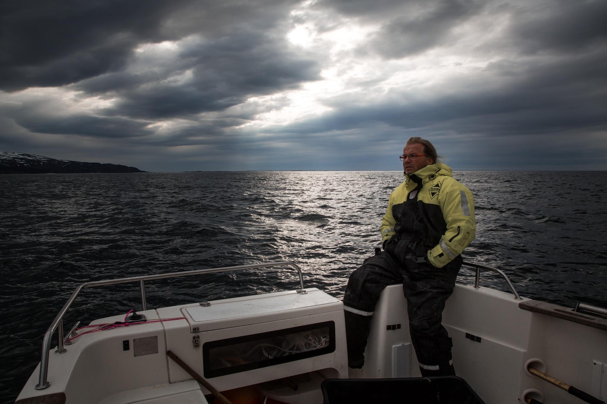 Photo in People #fisherman #troms #norway #canon #sea #fishing