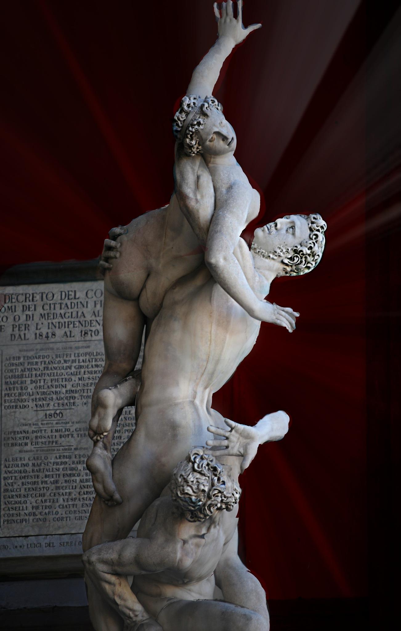 Roman Statue  by Tom Horonzy