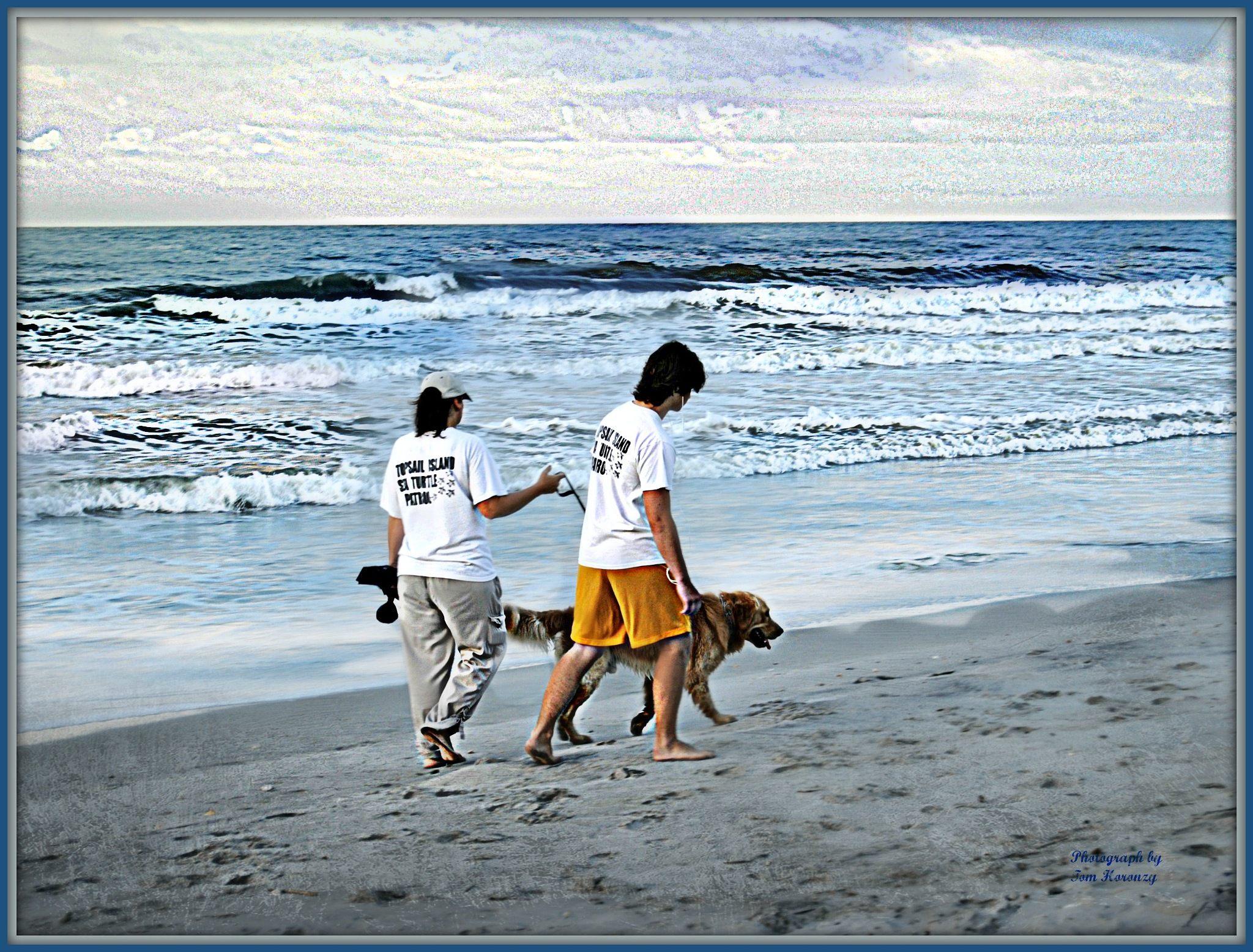 Volunteer Rescue Topsail Island by Tom Horonzy
