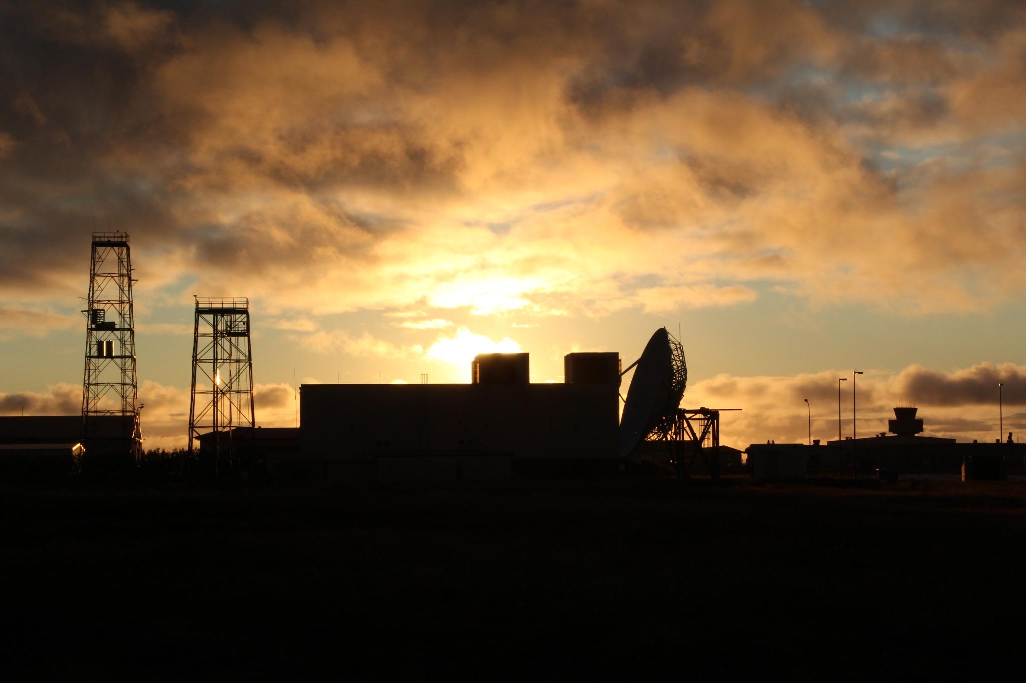 Air Force Base Sunset by John Hillman