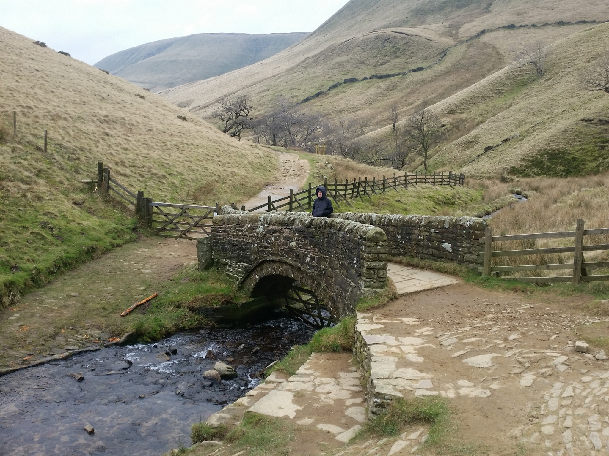 Bridge to Edale by Danny Clegg