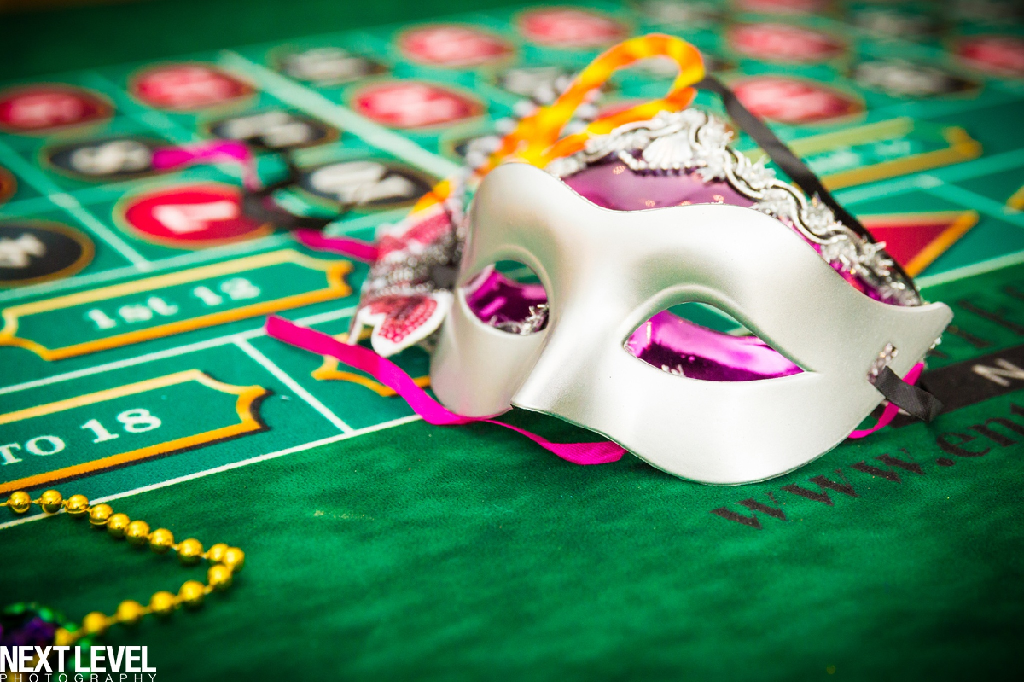 Masquerade and Gambling by Mary Perry