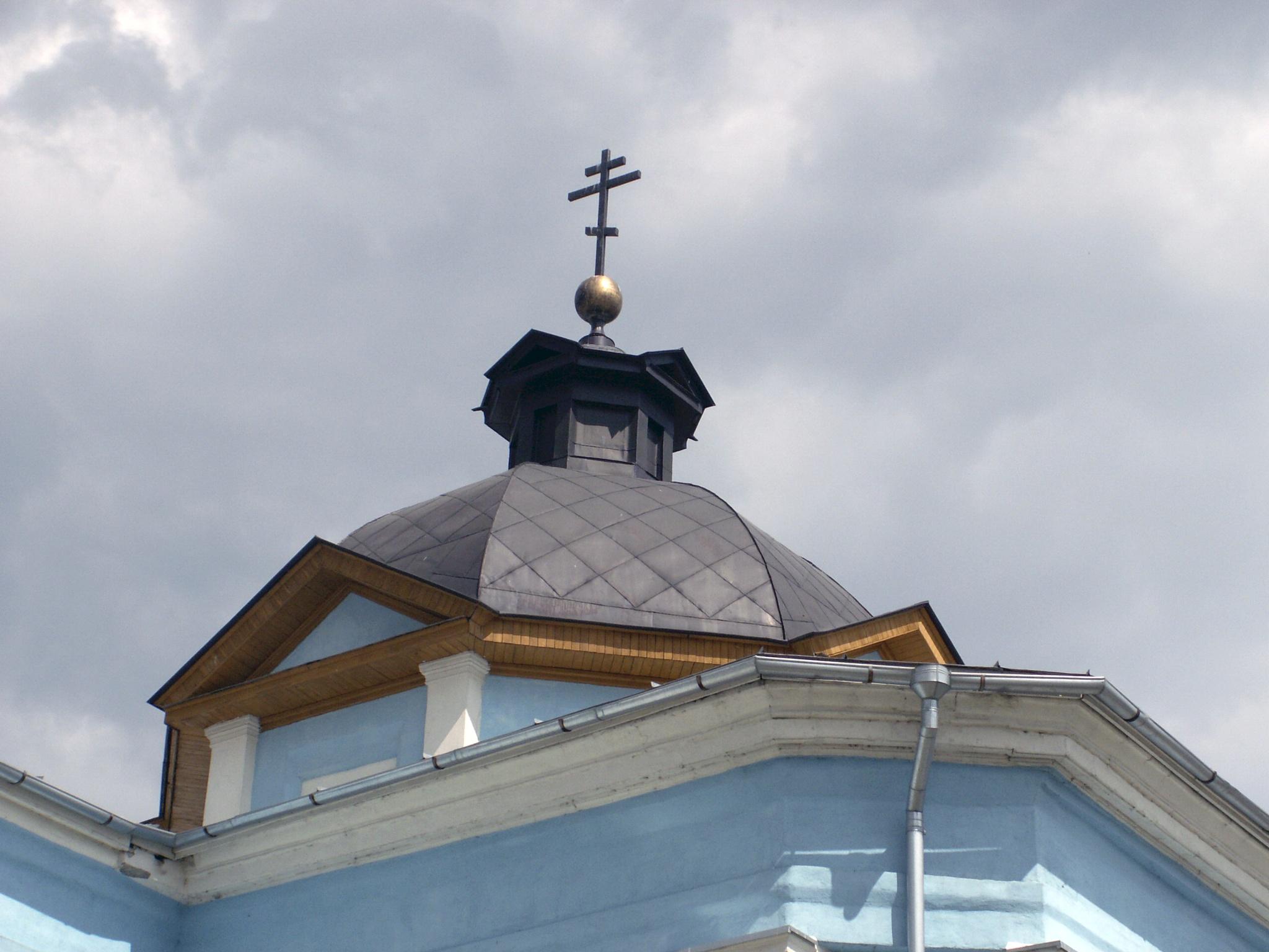 dome of the church by Alex  Falcon