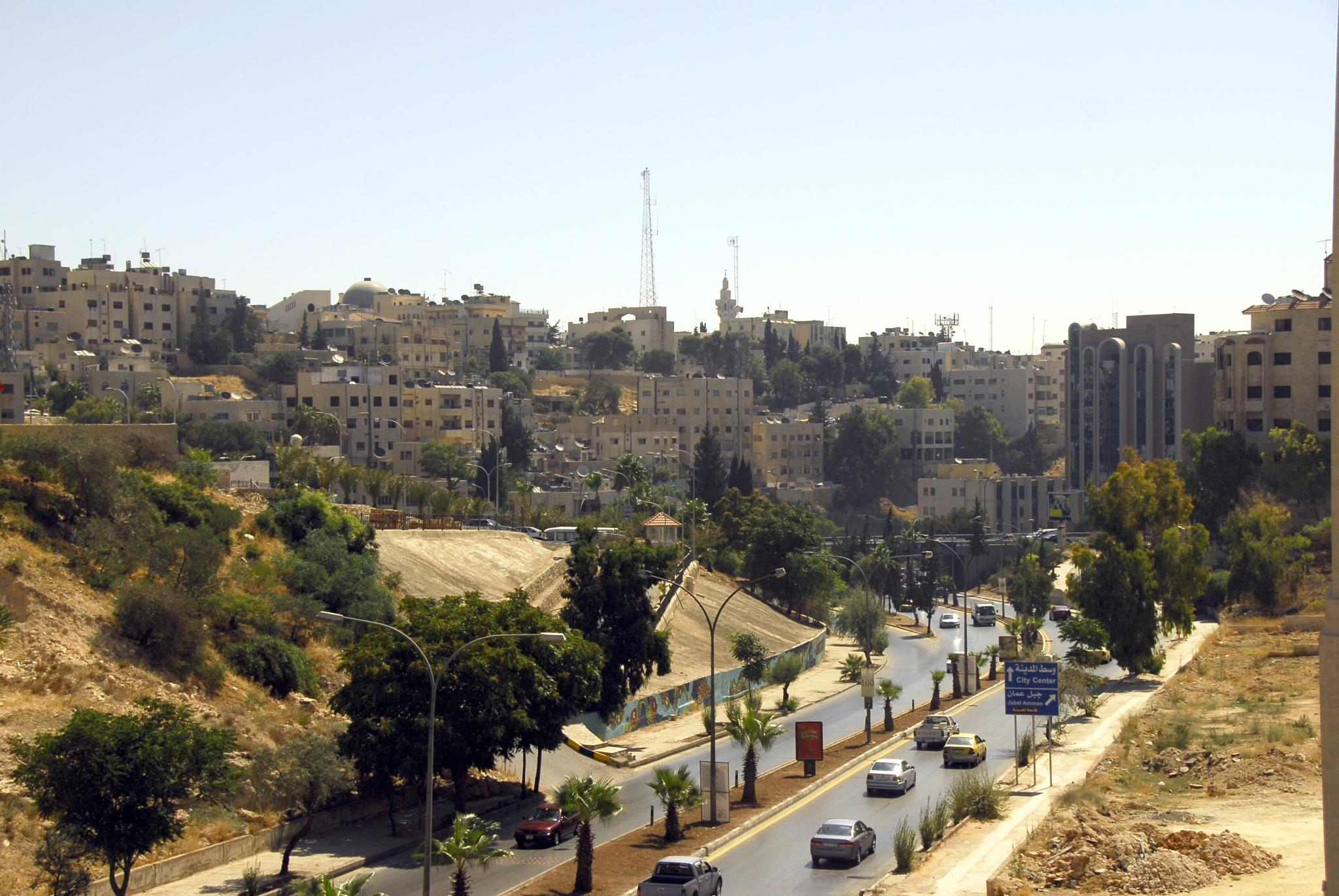 somewhere in 'Amman by Alex  Falcon