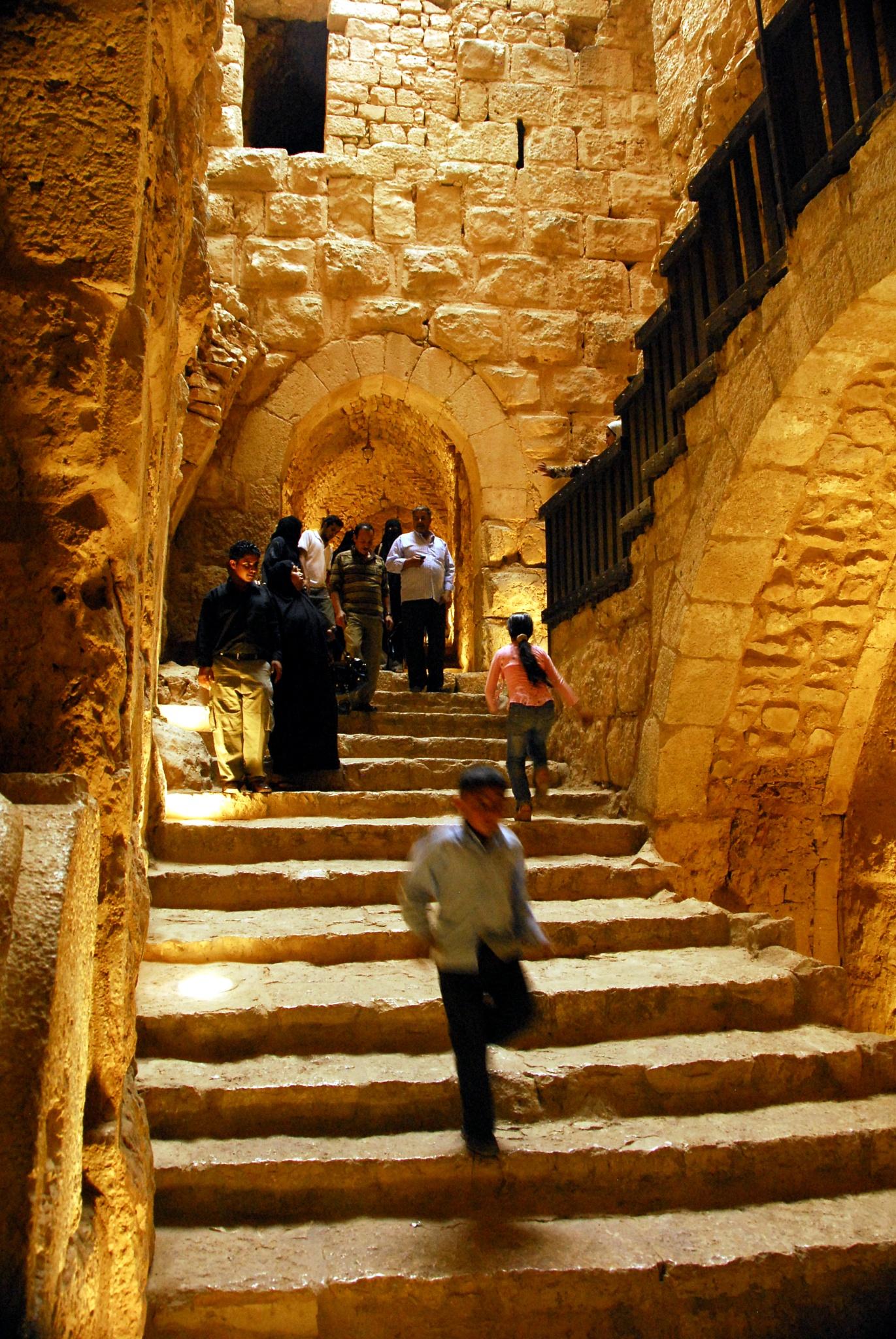 in the Castle of 'Ajlun by Alex  Falcon