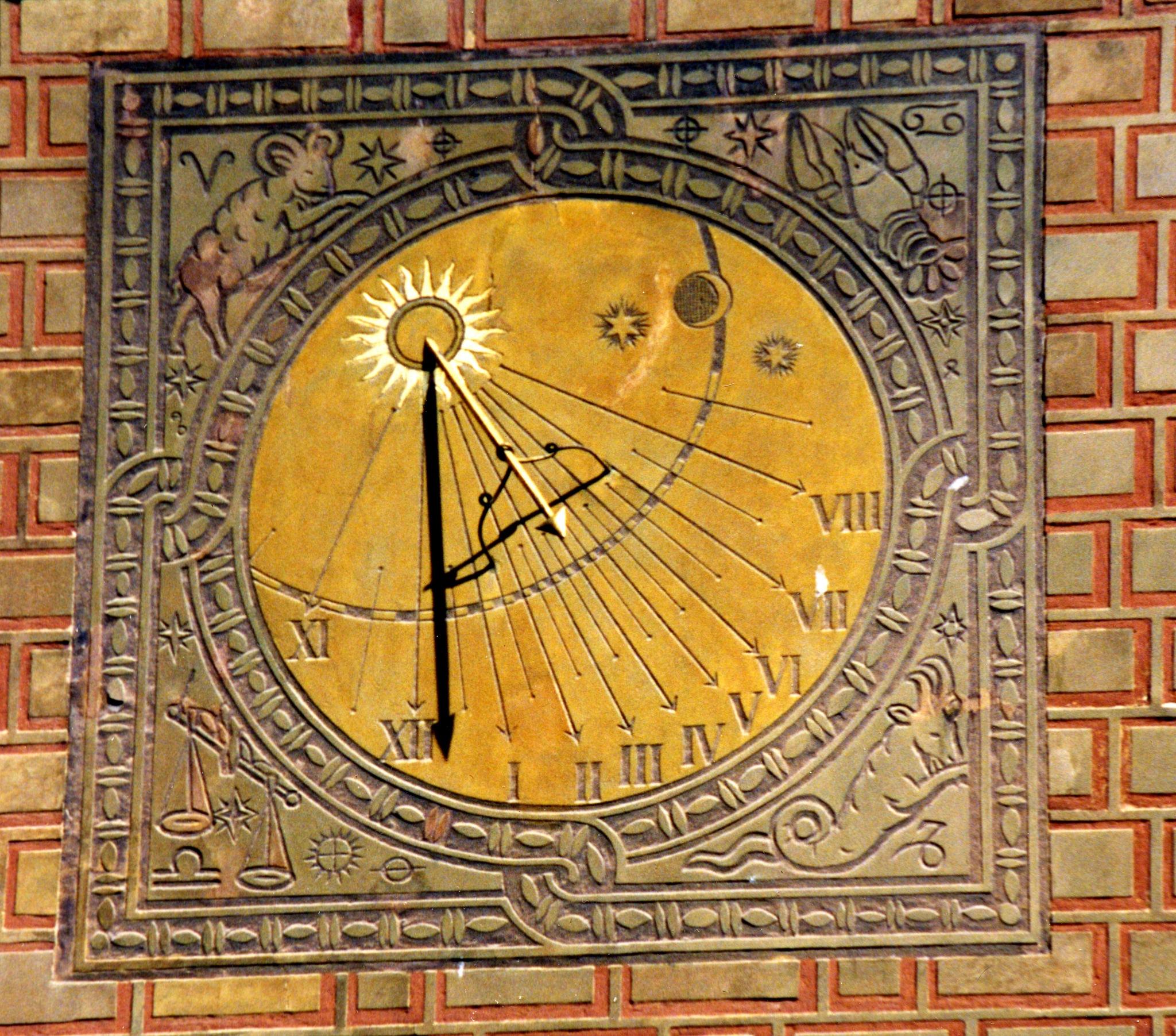 The sunny wall clock by Alex  Falcon