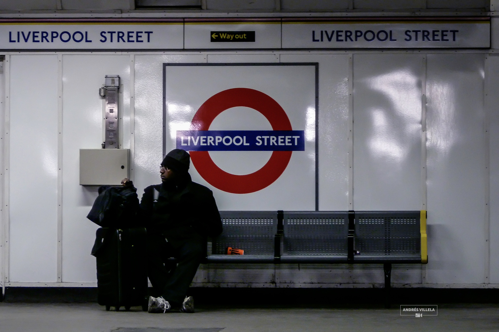Liverpool street by andres villela