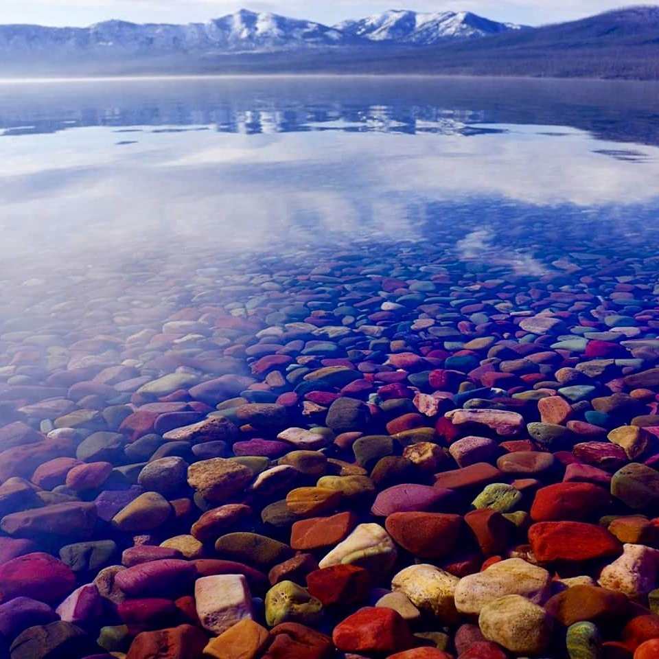 The Lake of Colored Stones by tedrcote