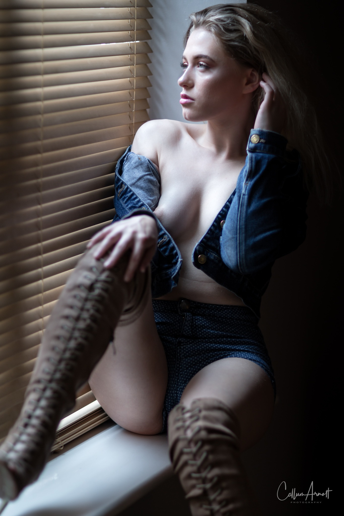 By the window by Captured Models