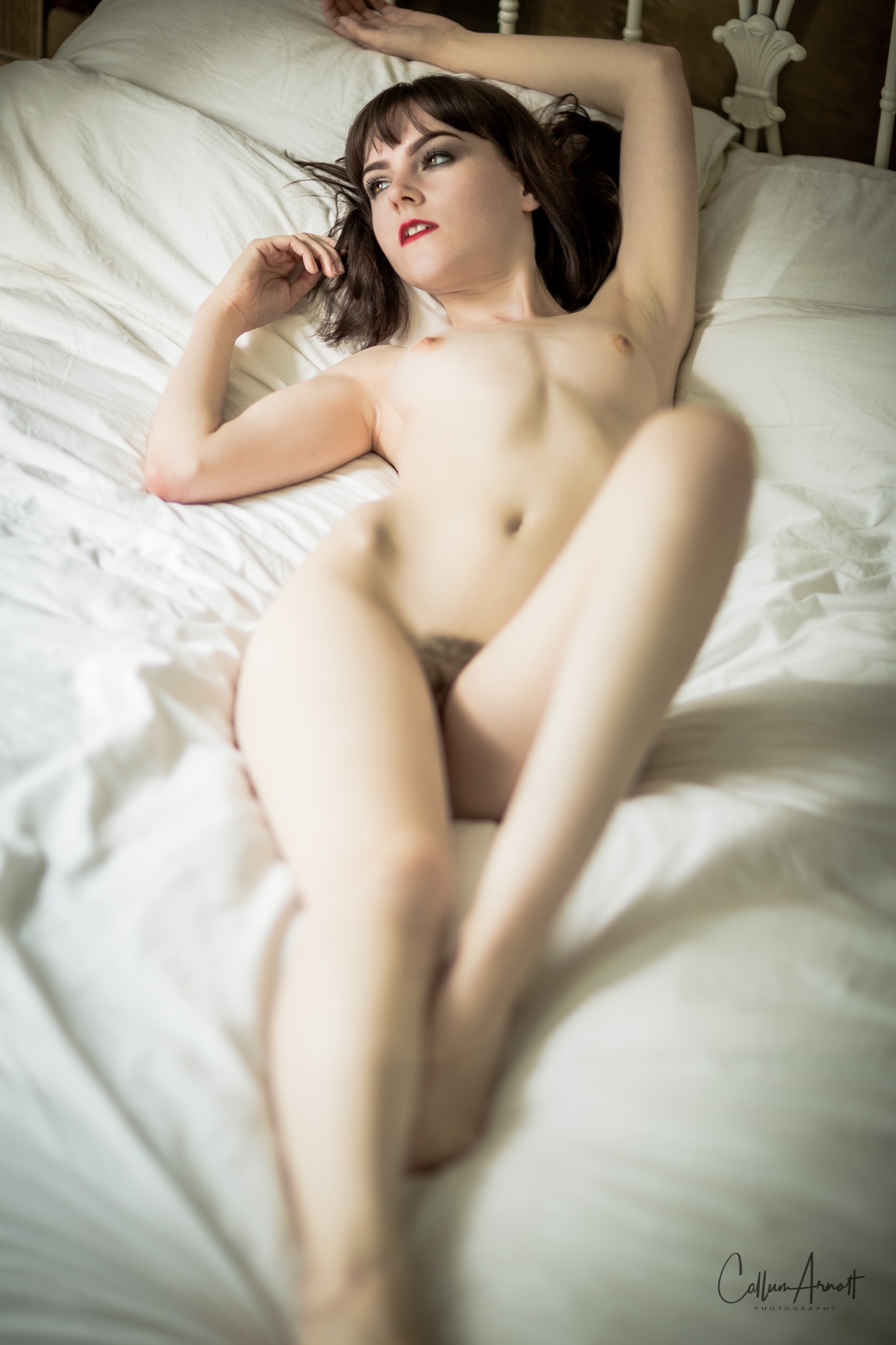 Stretched nude by Captured Models