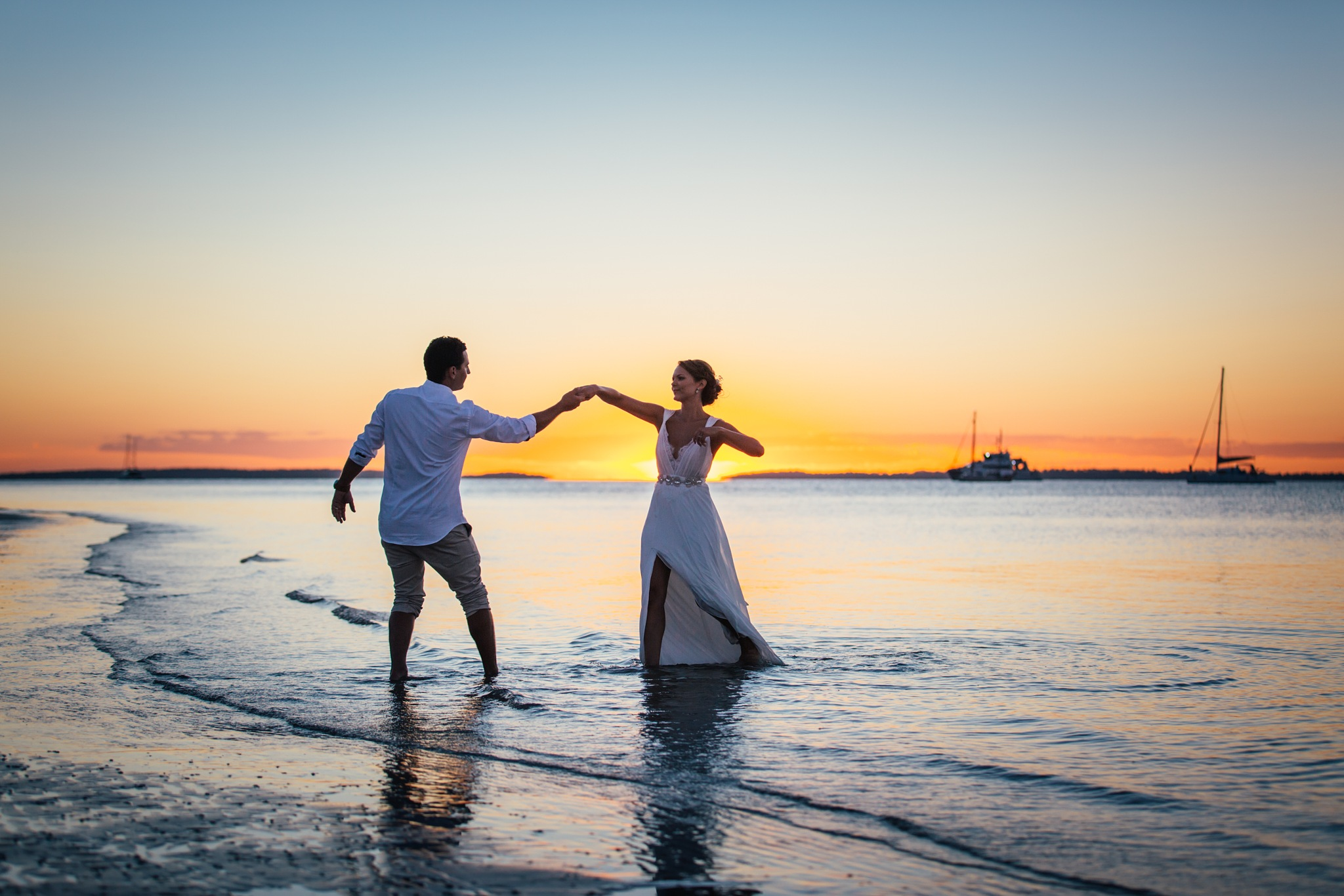 Sunset First Dance by Jesse Hunter
