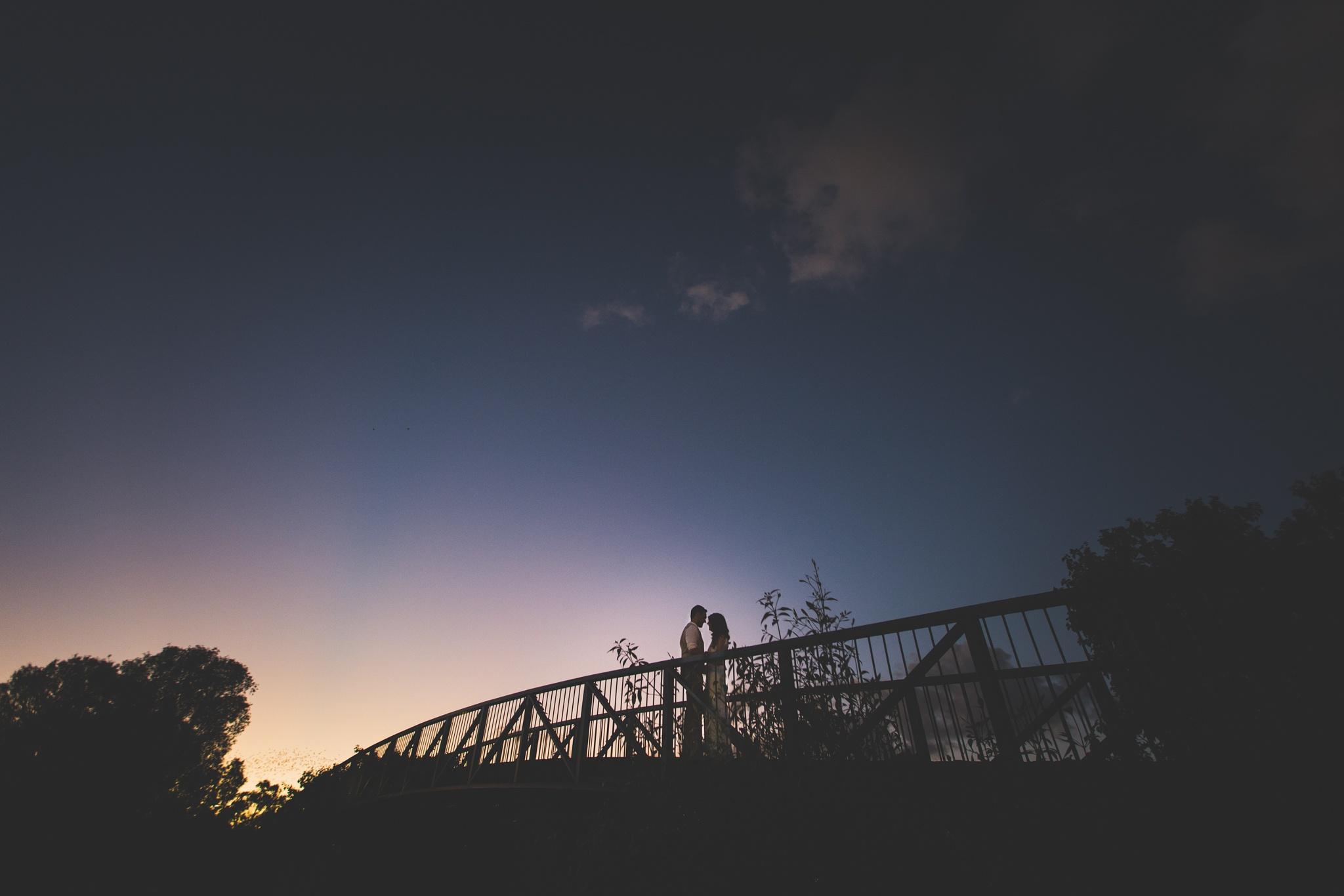 Photo in Wedding #wedding #photographer #photography #noos #sunshine #coast #australia #waterfront #love #bridge #sunset