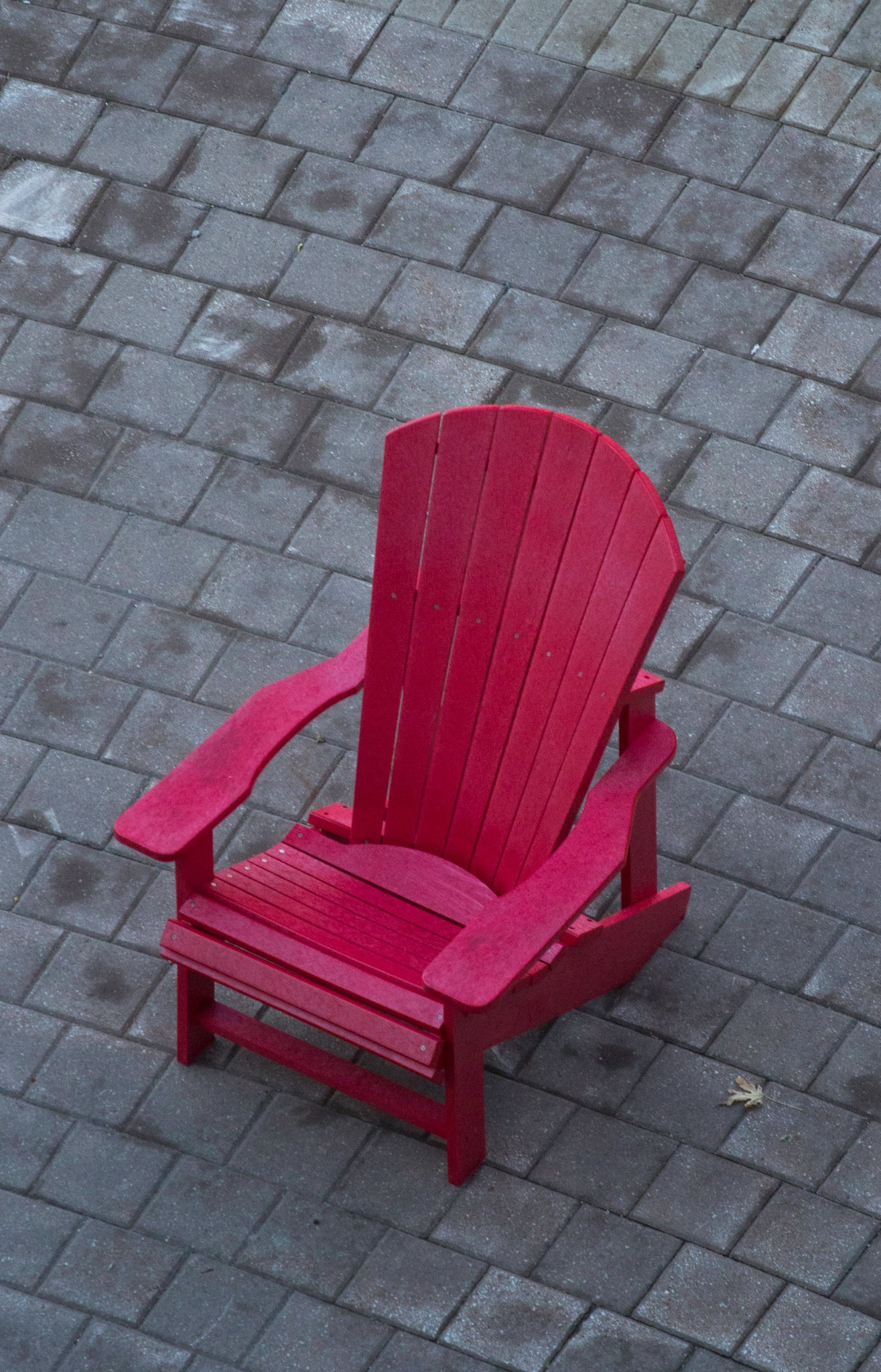 Red Chair by FritzMendell