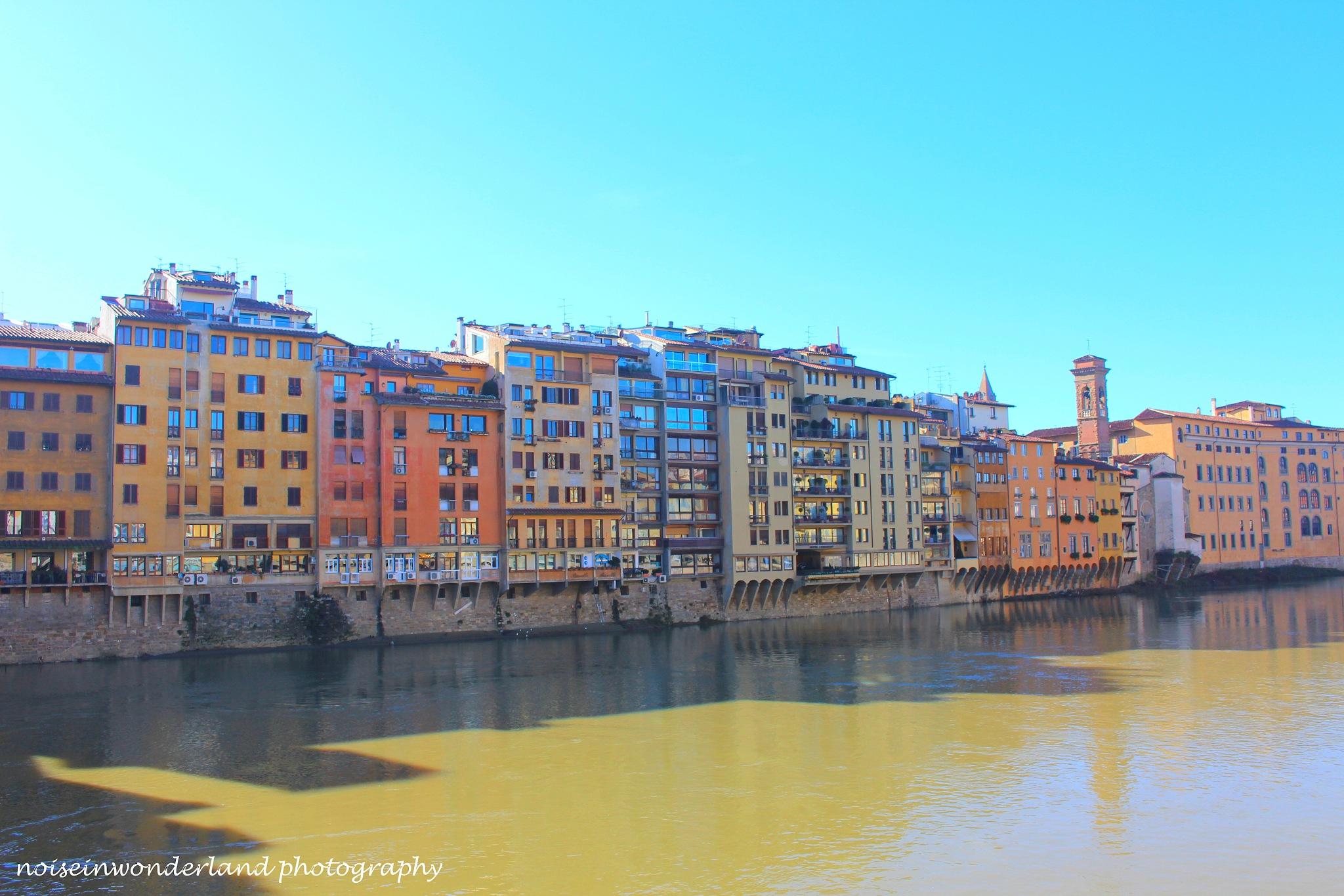 Florence - Italy by NoiseinWonderland