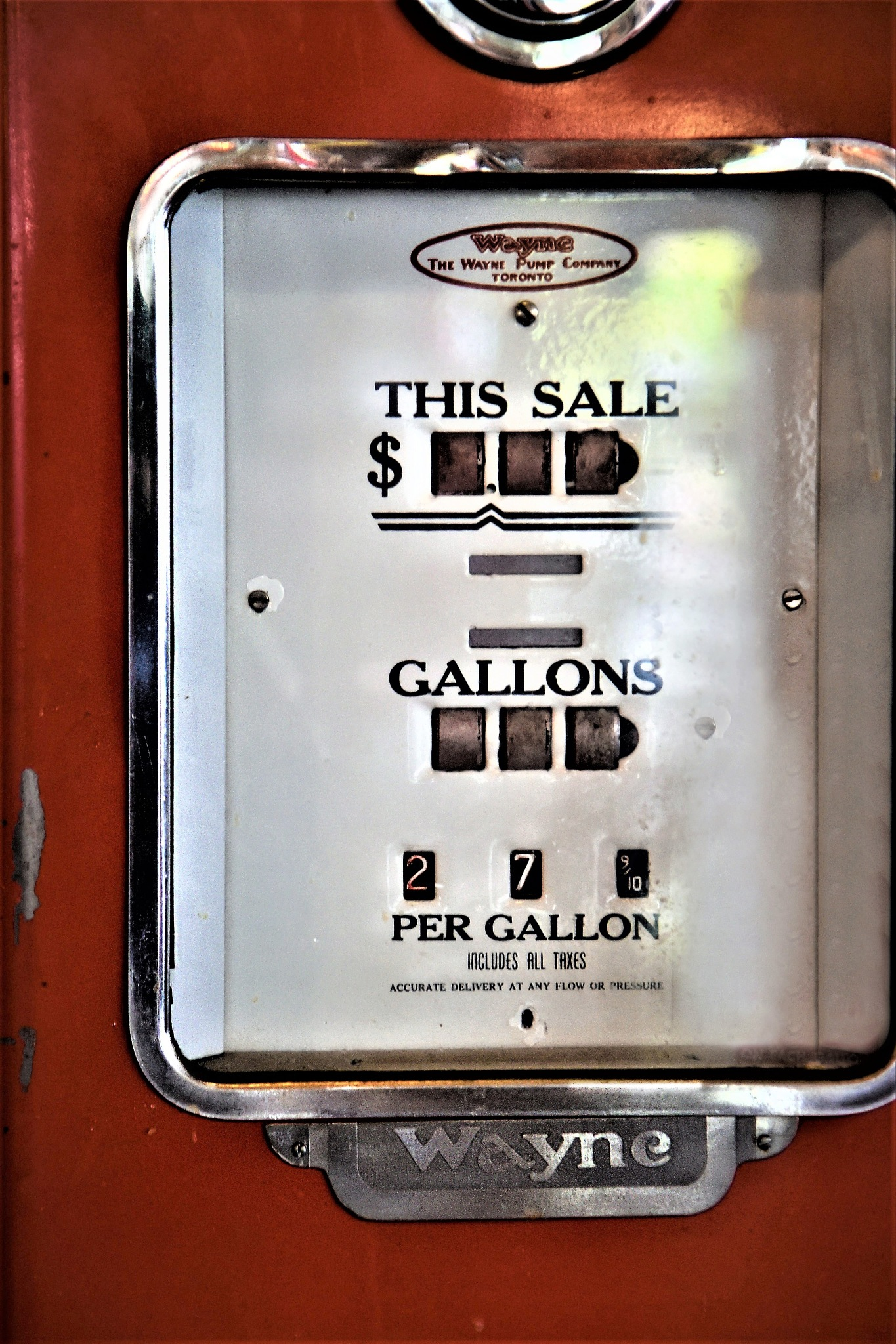 Along long time ago..... 27 cents per gallon by Pasqual