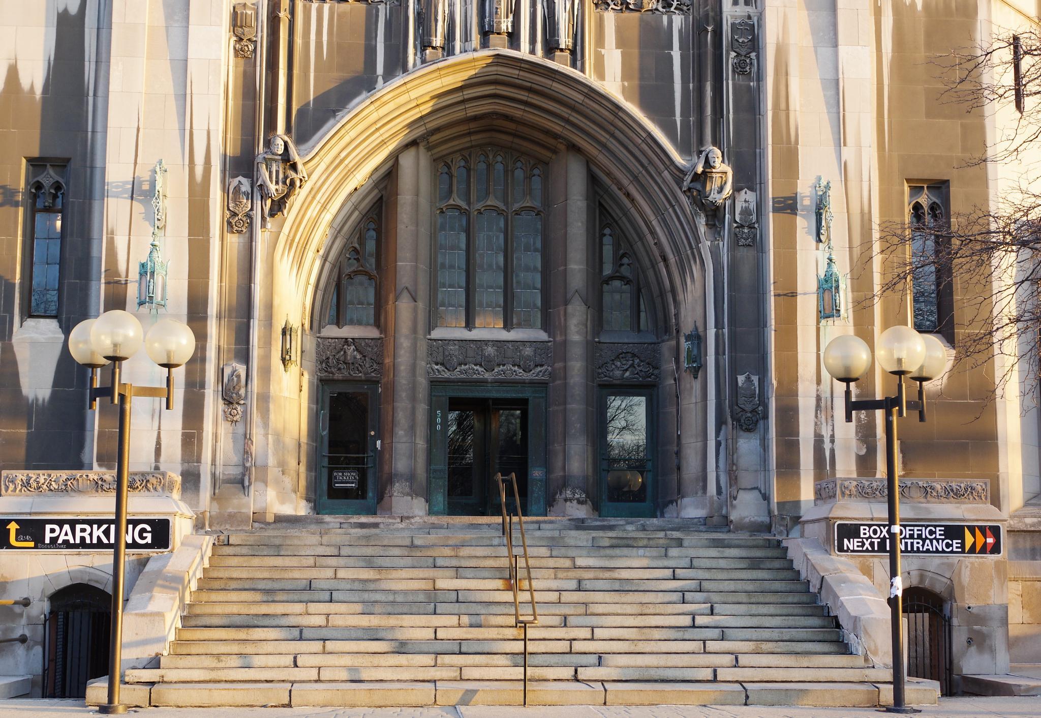 Masonic Temple by chuckhildebrandt7
