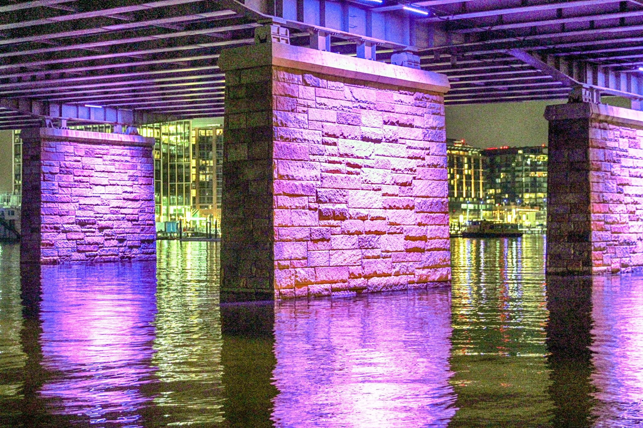 Under I-395/The Wharf/Washington, DC/2018 by aemdigitalphotography