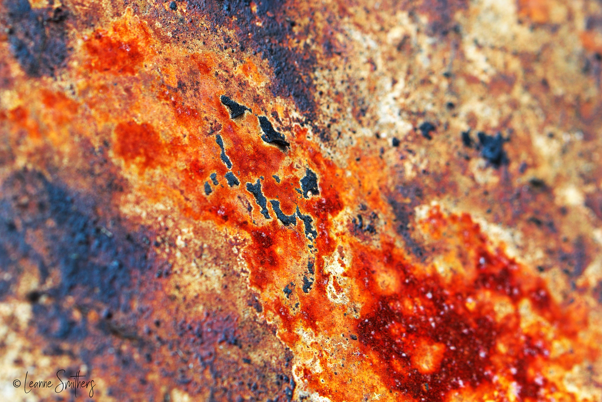 Rust & Grime by Leanne Smithers