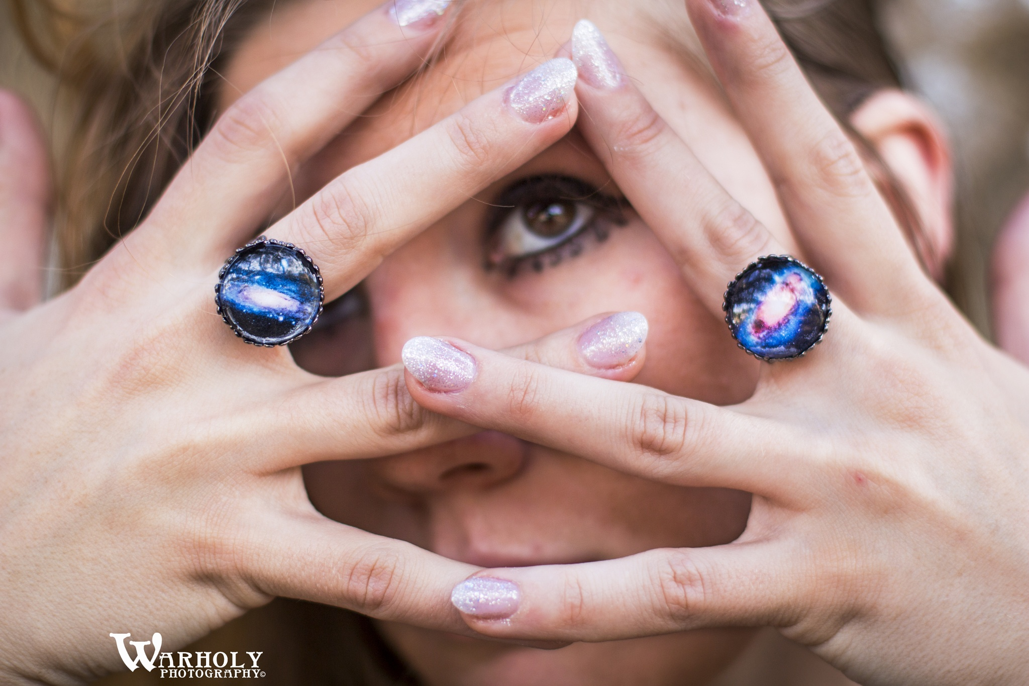 The Galaxy Rings by Warholy Photography