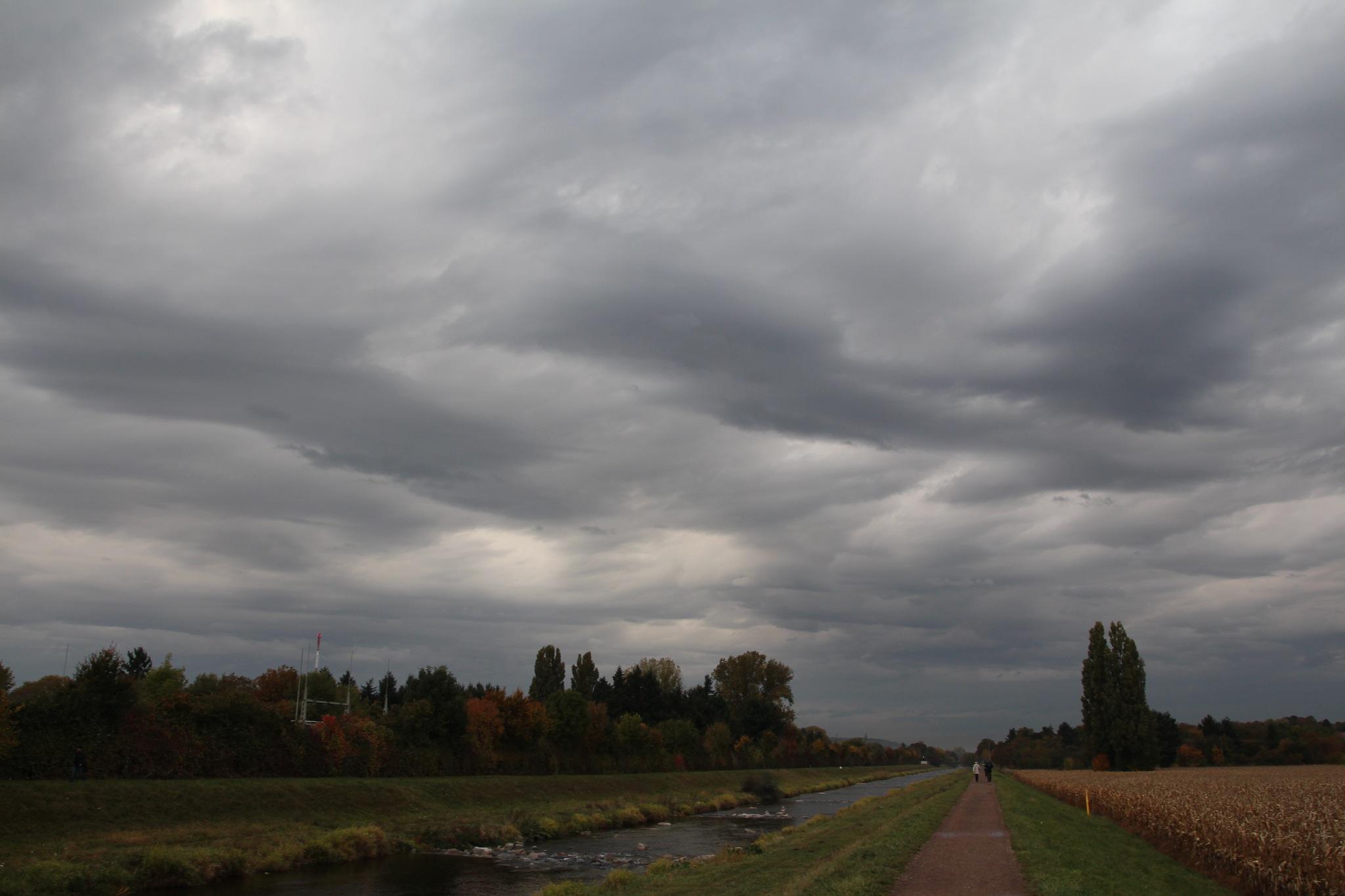 """""""schwere Wolken"""" by Karl Dulleck"""