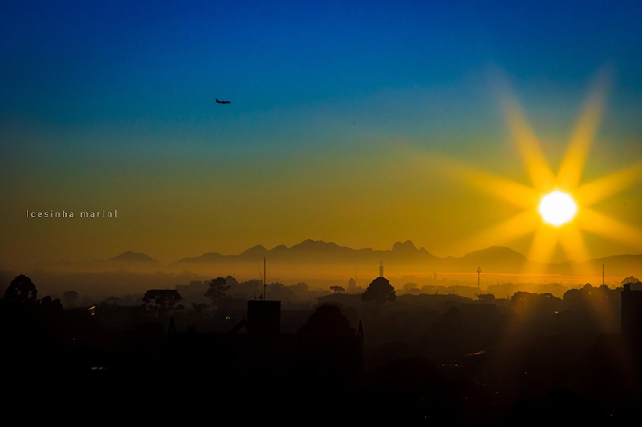 Winter dawn in Curitiba by Cesinha Marin