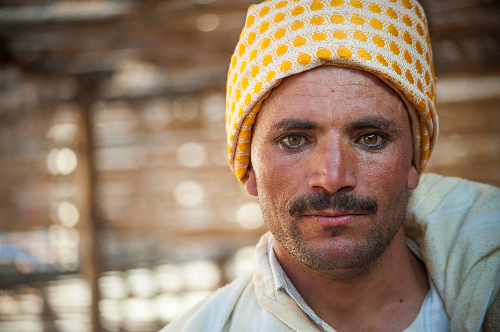 A nomad from the ATLAS MOUNTAINS by Allal Fadili