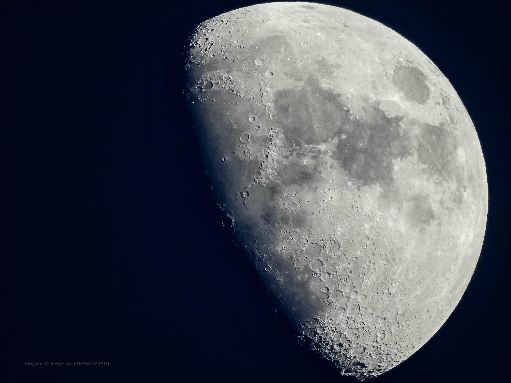 Moon - the night colors by Драгана М. Реџић