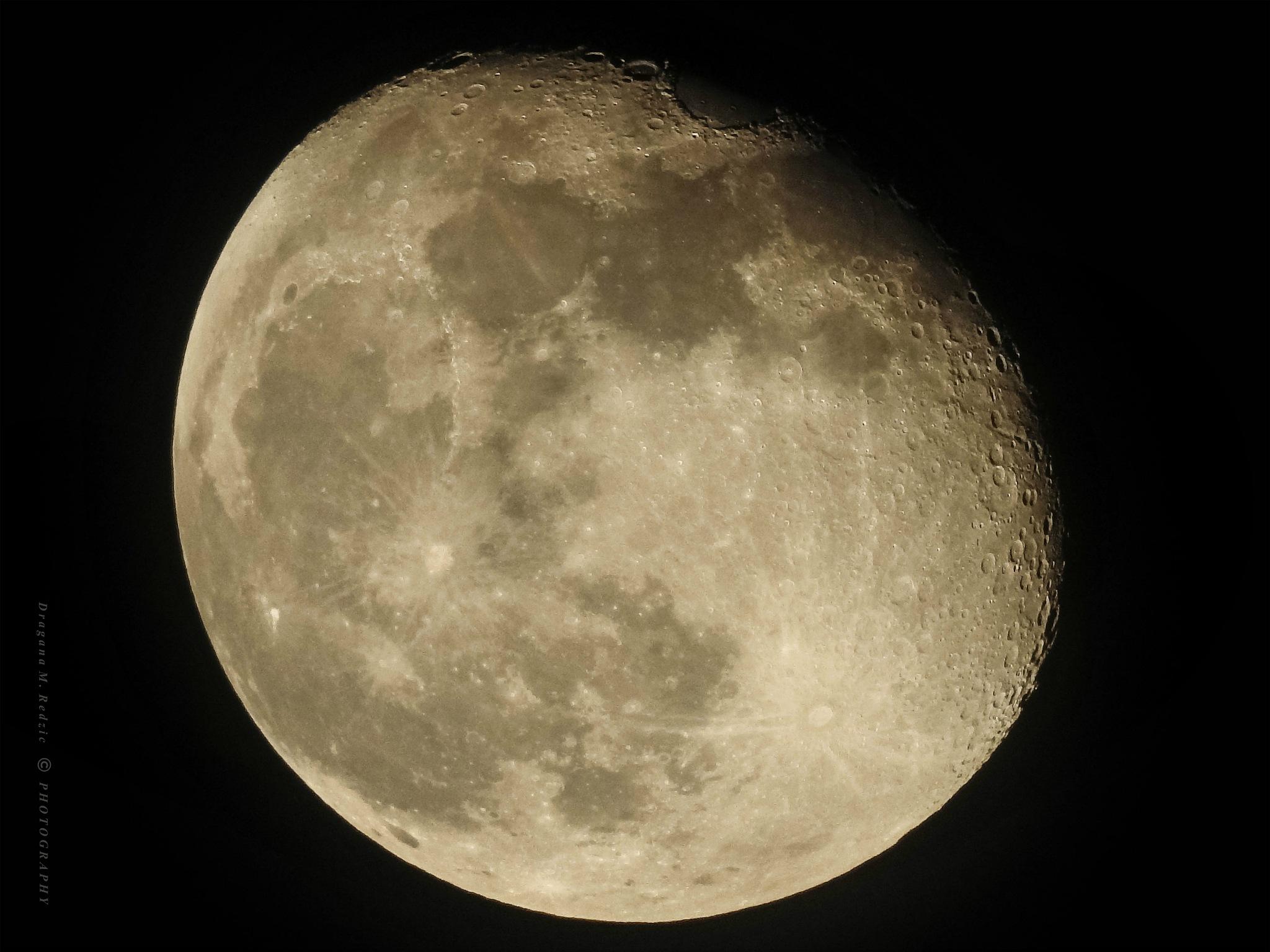 Beautiful Moon - 14-Feb-2017 - Over Serbia by Драгана М. Реџић