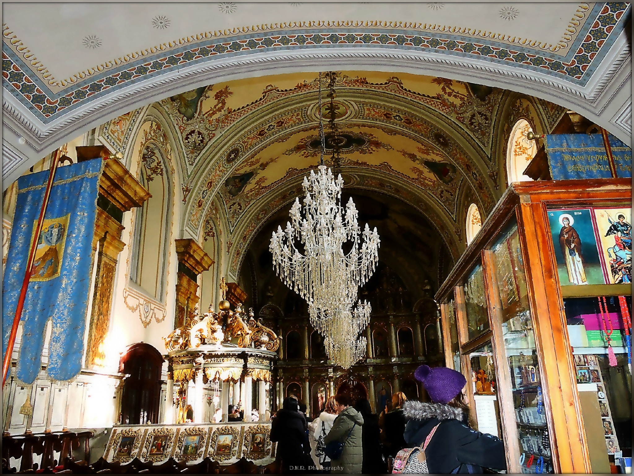 The interior of the Serbian Orthodox Congregational Church in Timisoara by Драгана М. Реџић