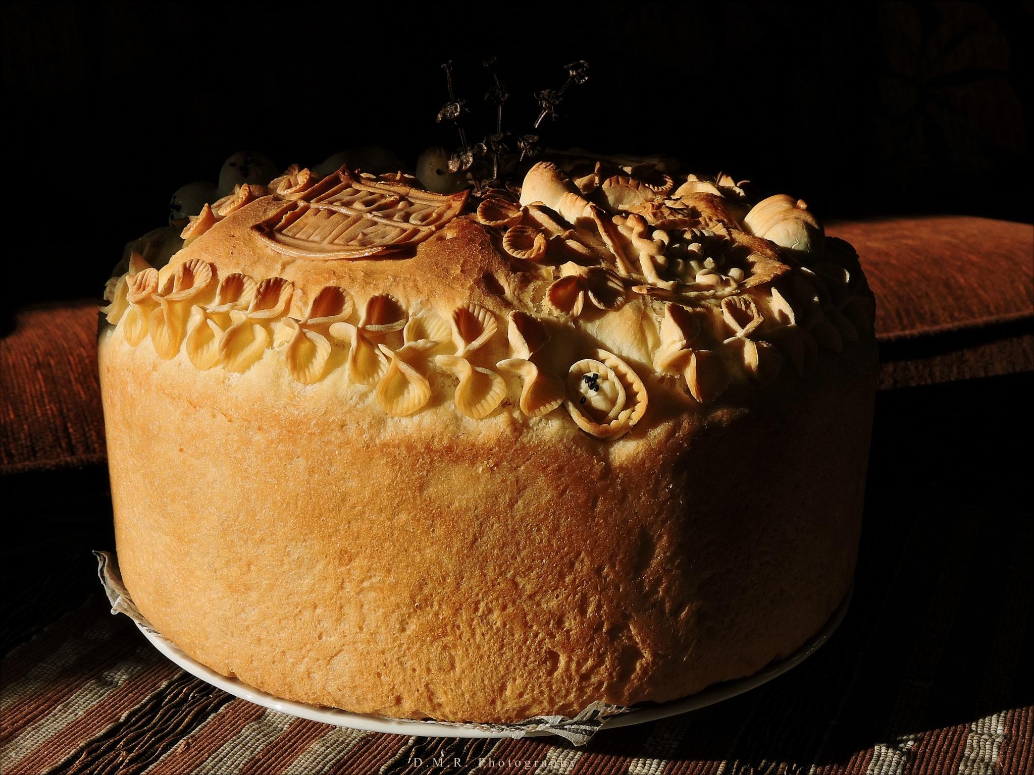 Slava cake for St Nicholas by Драгана М. Реџић