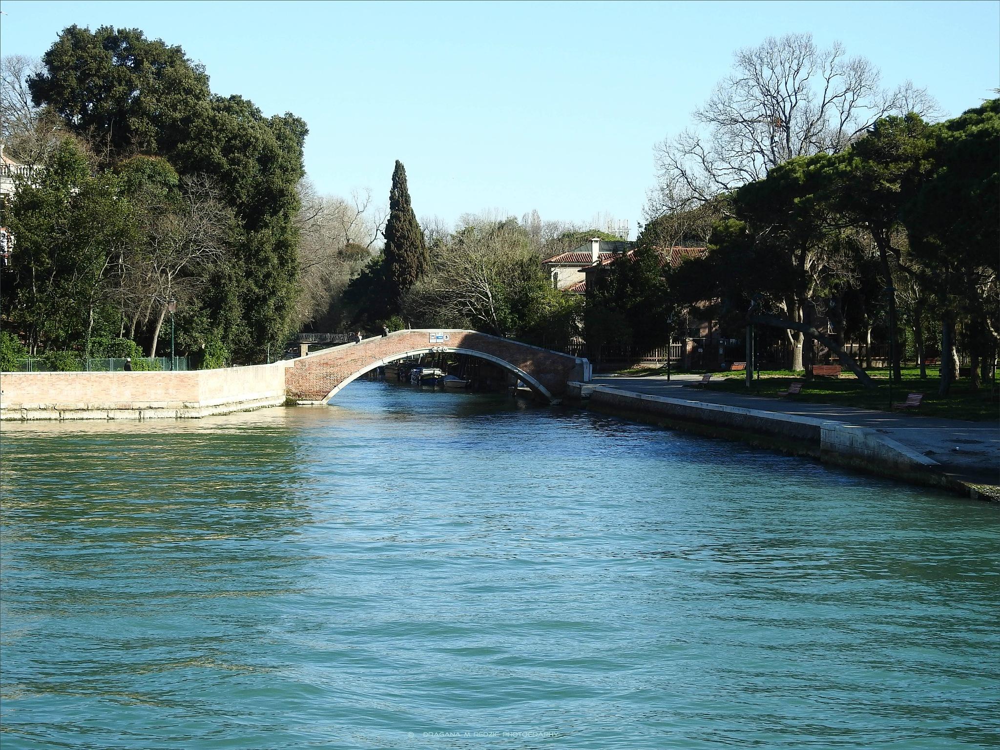 Il canale all'ingresso di Venezia by Драгана М. Реџић