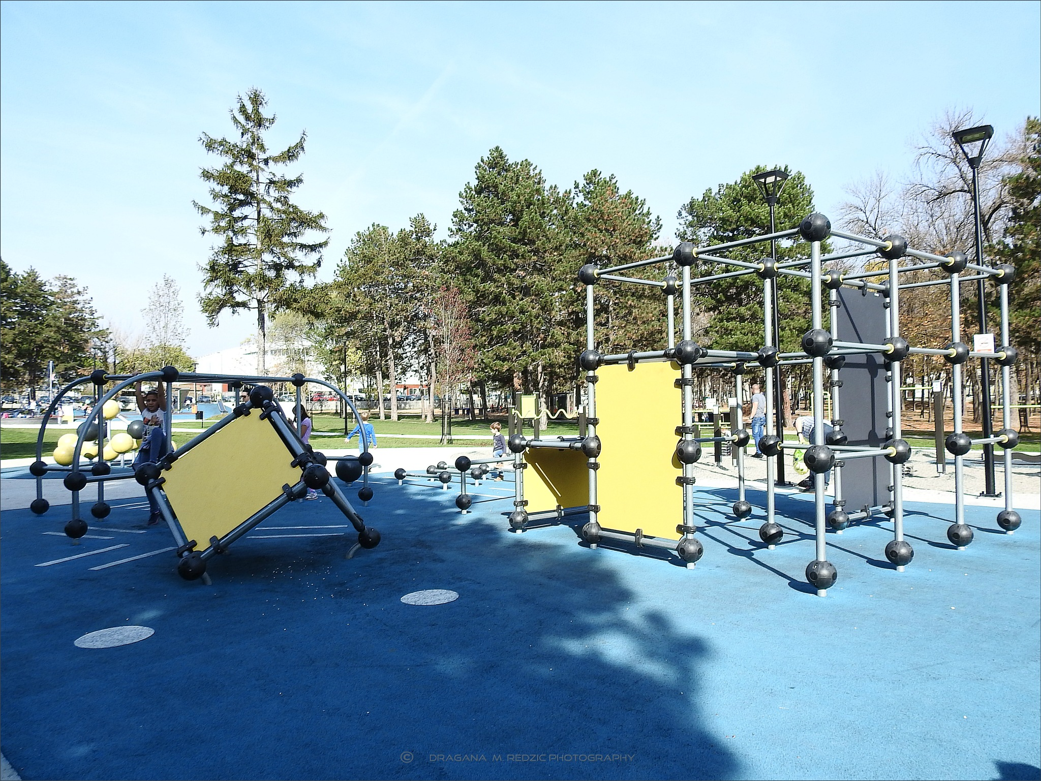 Children's sports and recreational playroom 01 - Kragujevac, Serbia by Драгана М. Реџић