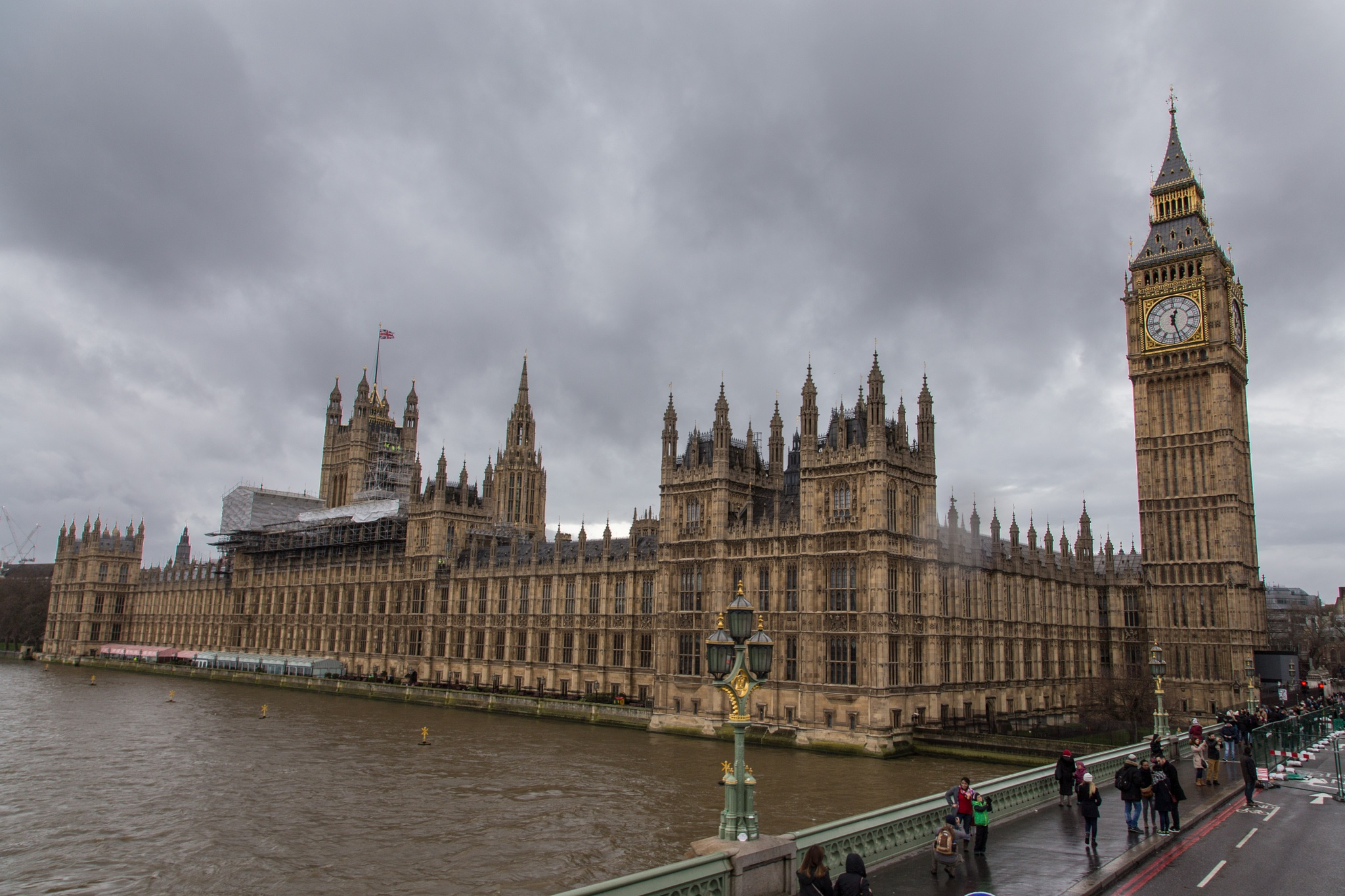 Palace of Westminster and Big Ben, Westminster, London, United Kingdom by Andrei Snitko