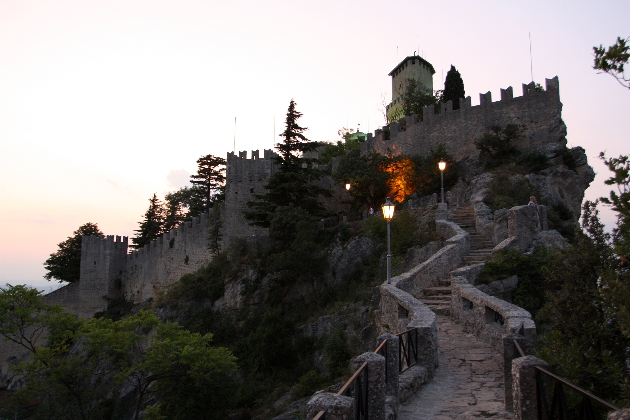 First Tower, Passo delle Streghe, San Marino by Andrei Snitko
