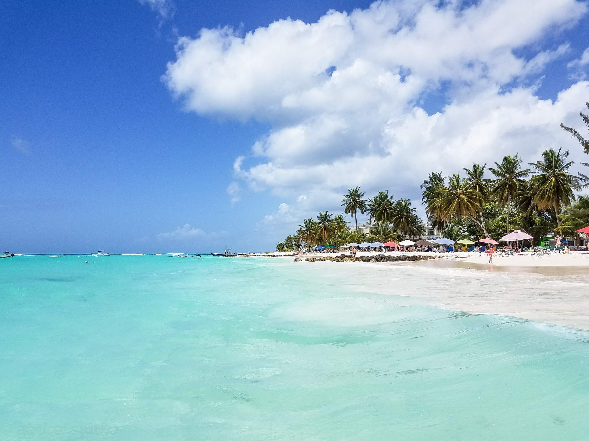 Worthing Beach, Barbados by Andrei Snitko