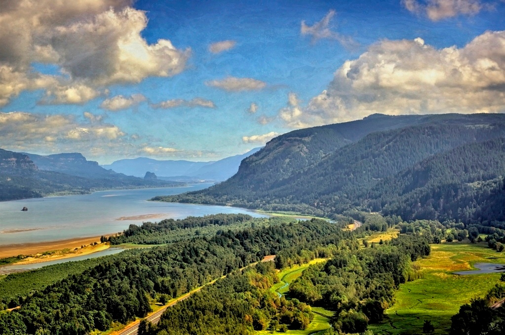 Photo in Travel #columbia gorge #columbia river #oregon