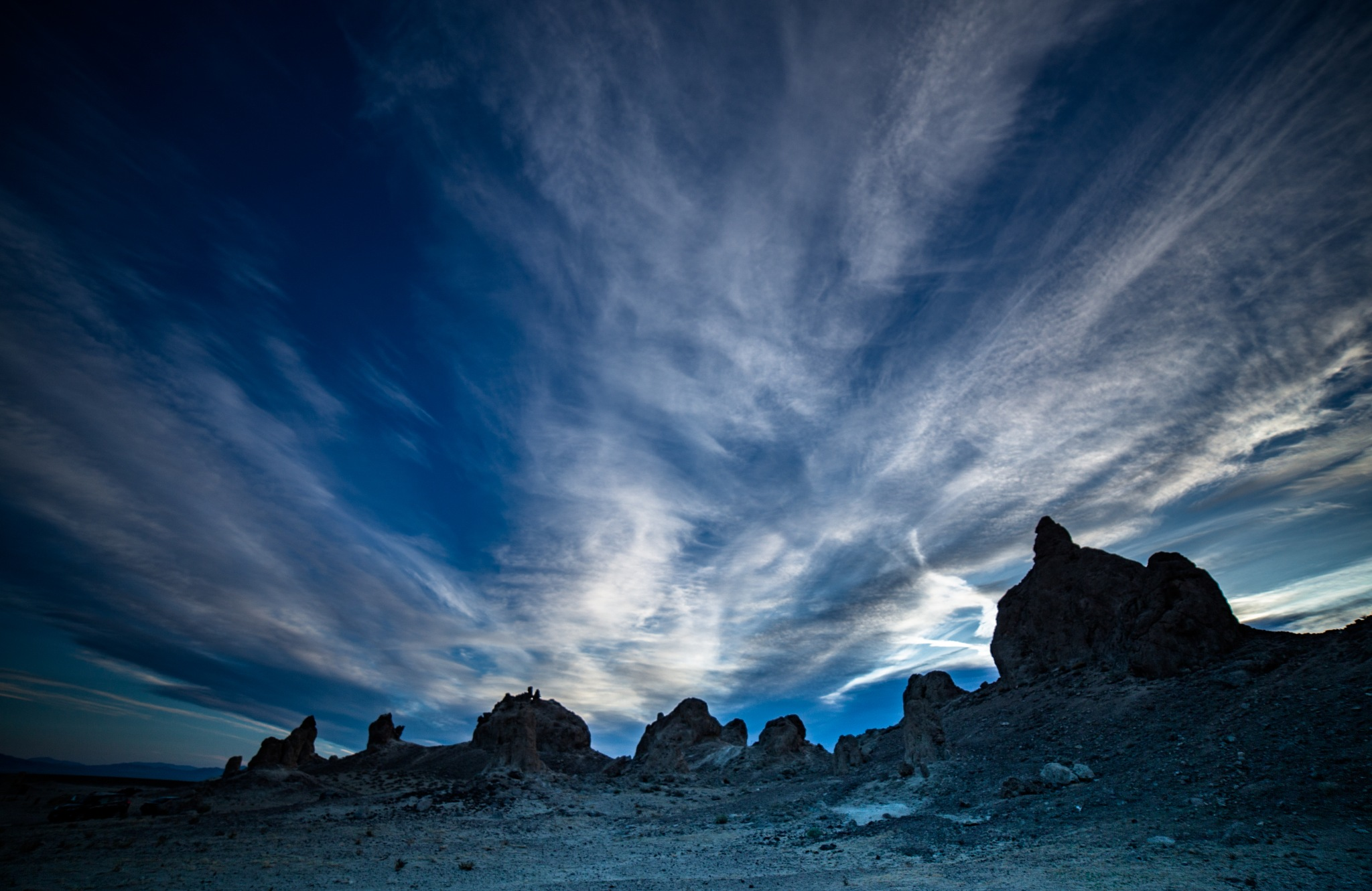early morning at Trona Pinnacles by volkhard sturzbecher