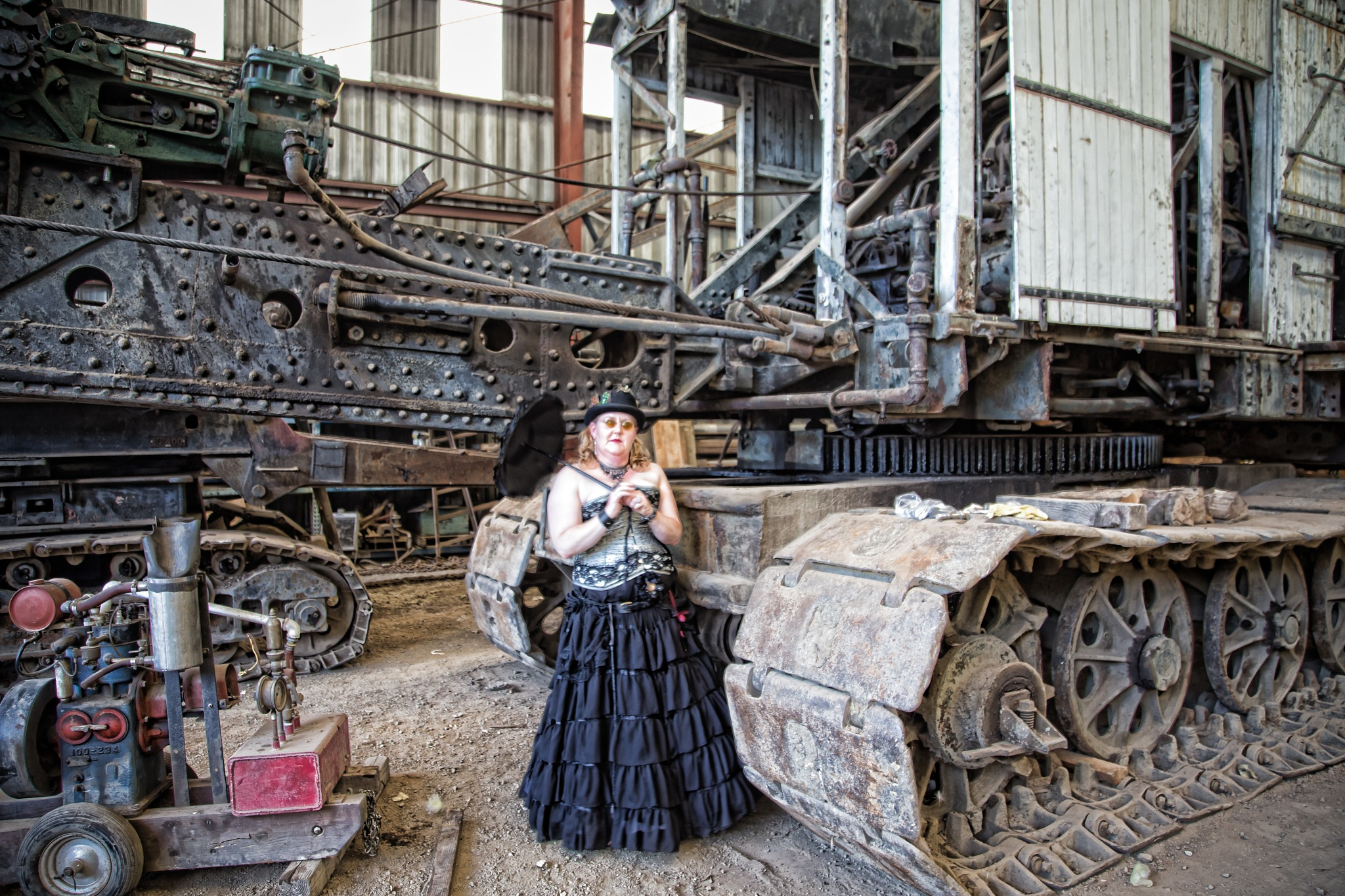 the machine and the lady by volkhard sturzbecher