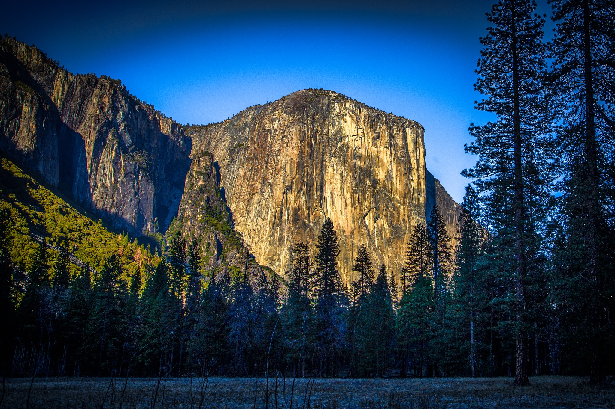 Yosemite, El Capitan by volkhard sturzbecher