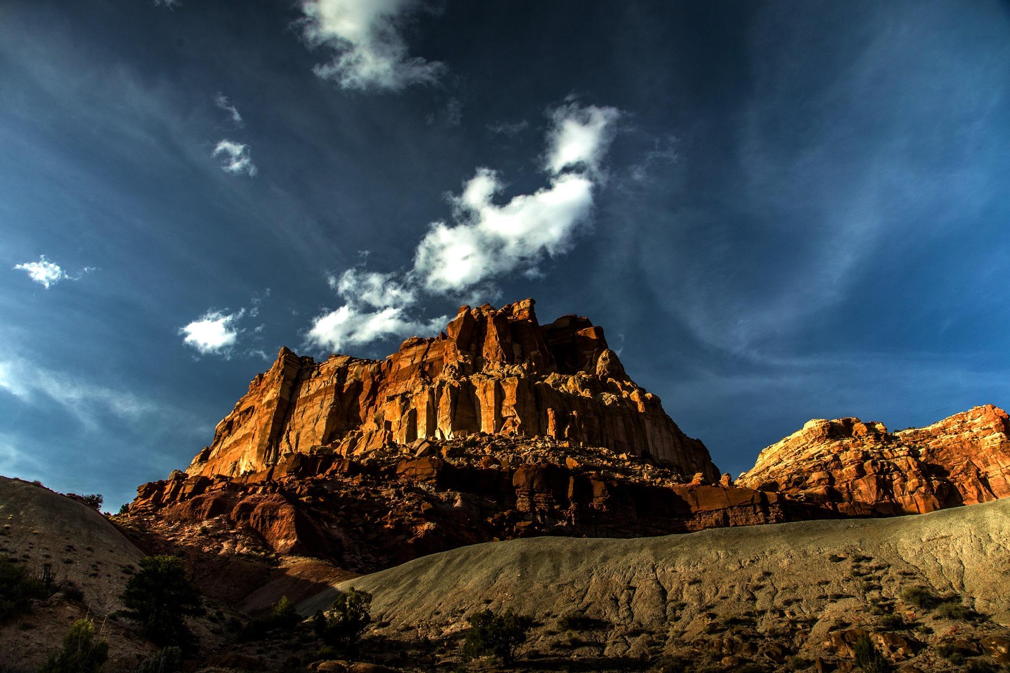 glowing rock by volkhard sturzbecher
